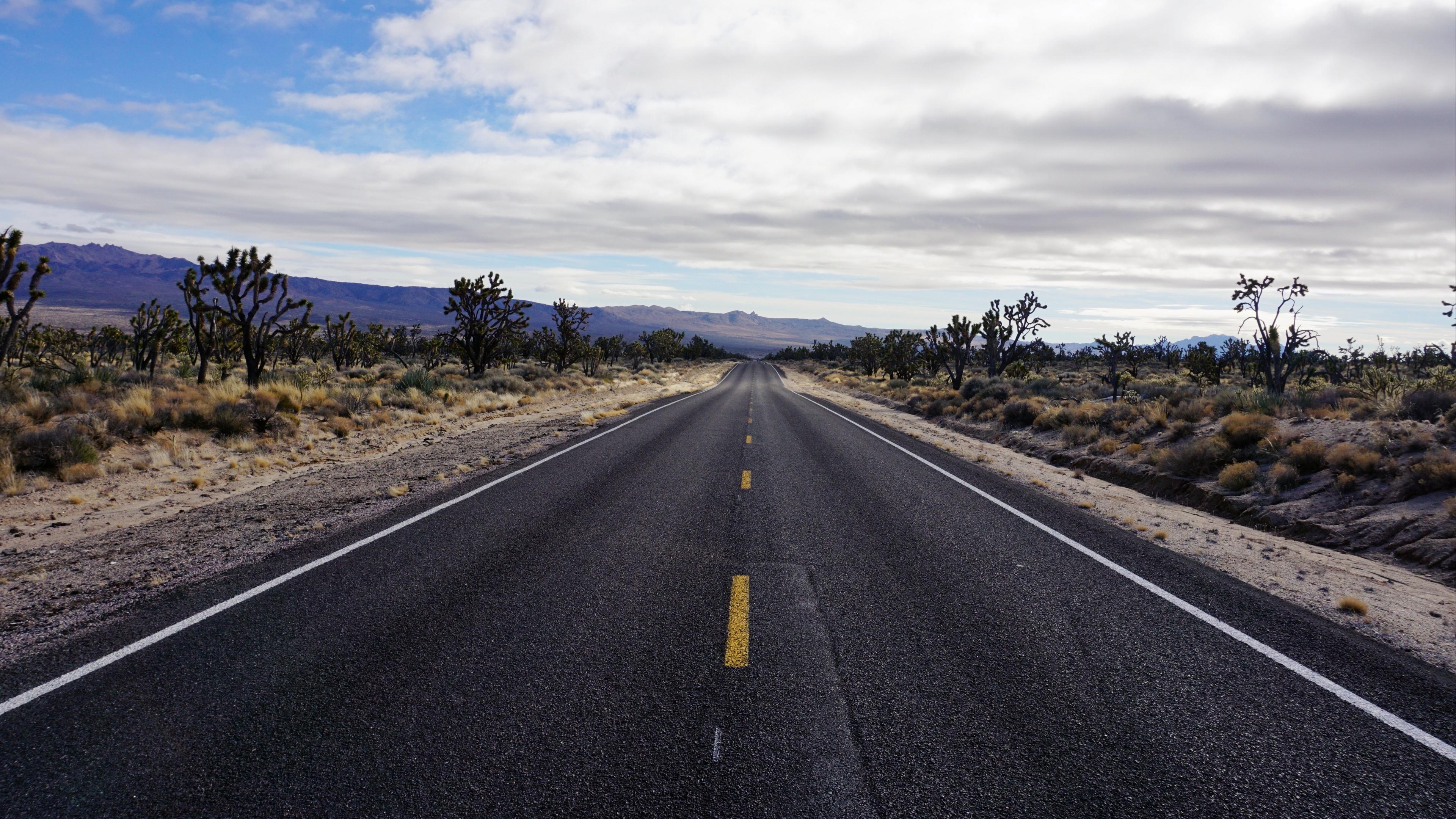 road asphalt desert marking horizon 4k 1541115986 - road, asphalt, desert, marking, horizon 4k - Road, Desert, asphalt