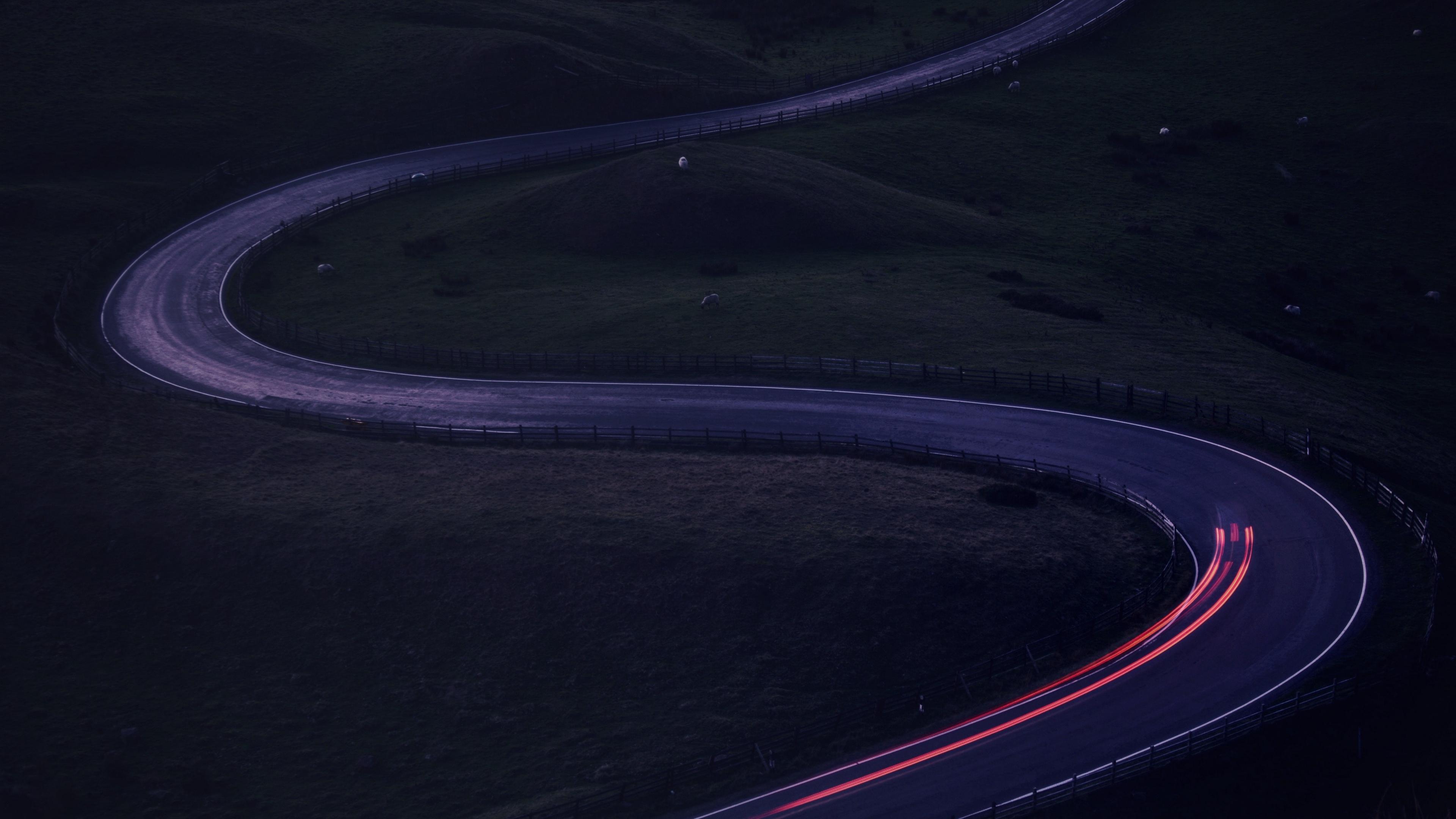 road twisty turn glow 4k 1541115787 - road, twisty, turn, glow 4k - twisty, turn, Road