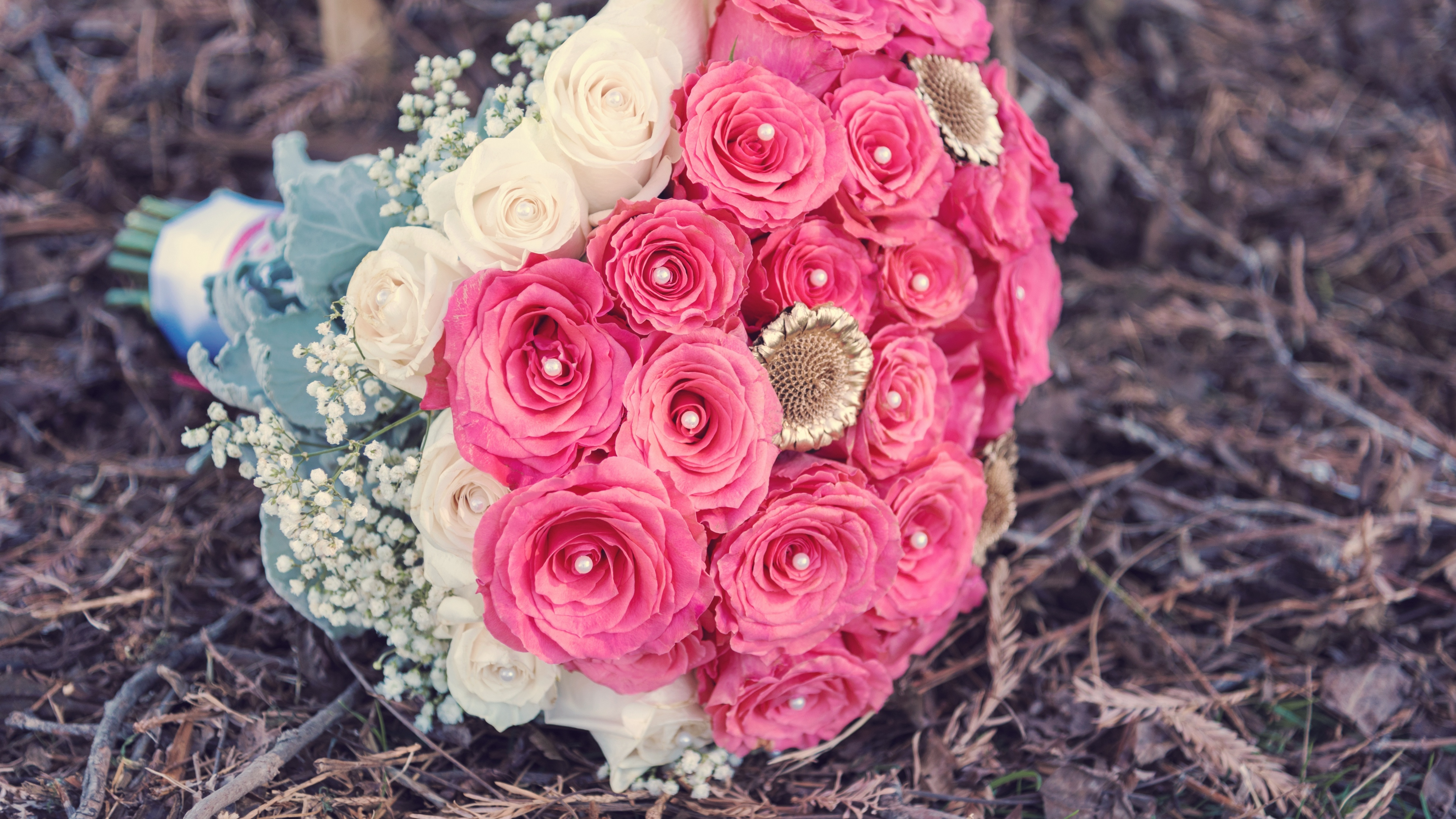 roses bouquet composition decoration 4k 1542242031 - roses, bouquet, composition, decoration 4k - Roses, composition, Bouquet