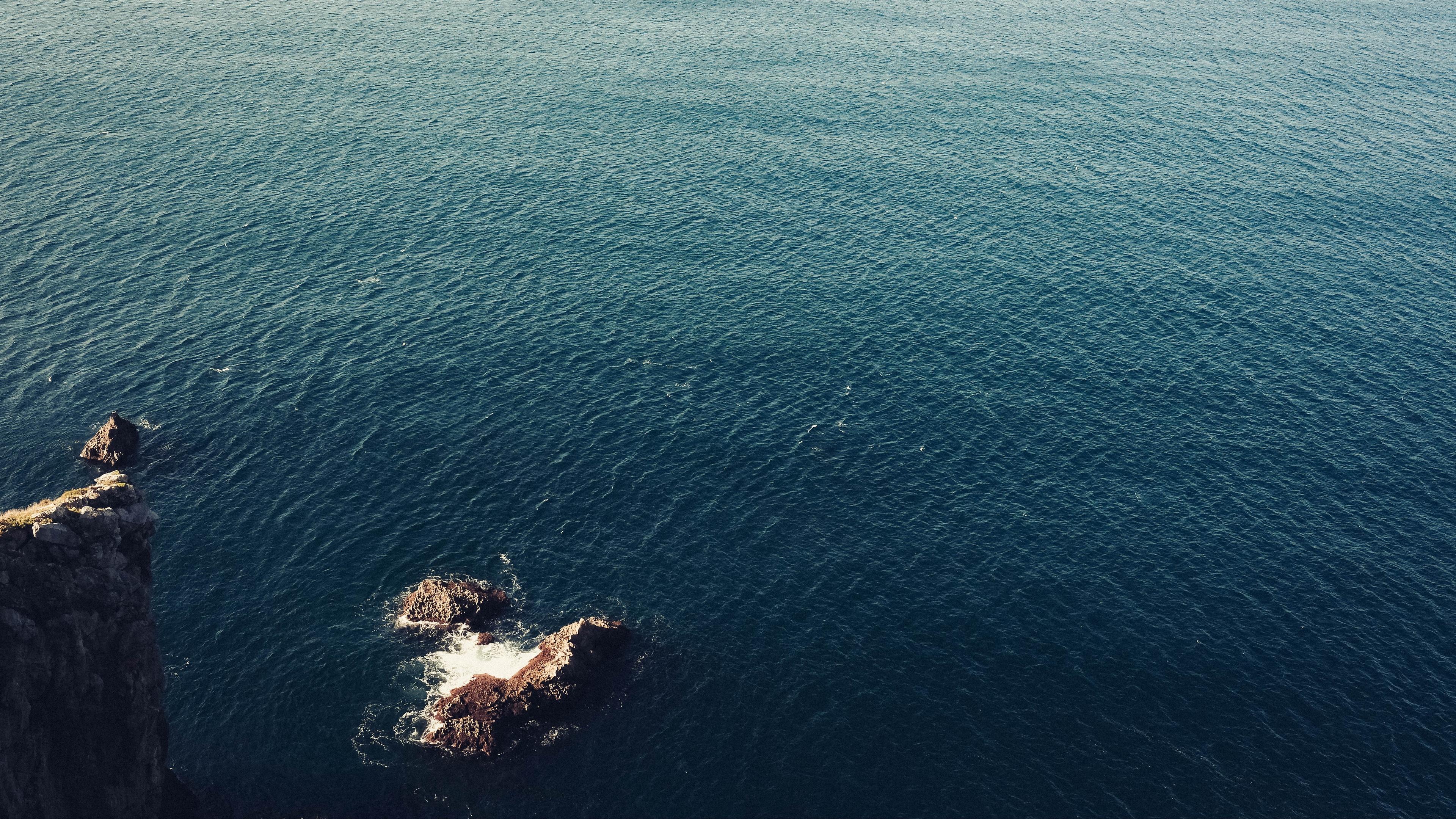 sea surface water 4k 1541114078 - sea, surface, water 4k - Water, Surface, Sea