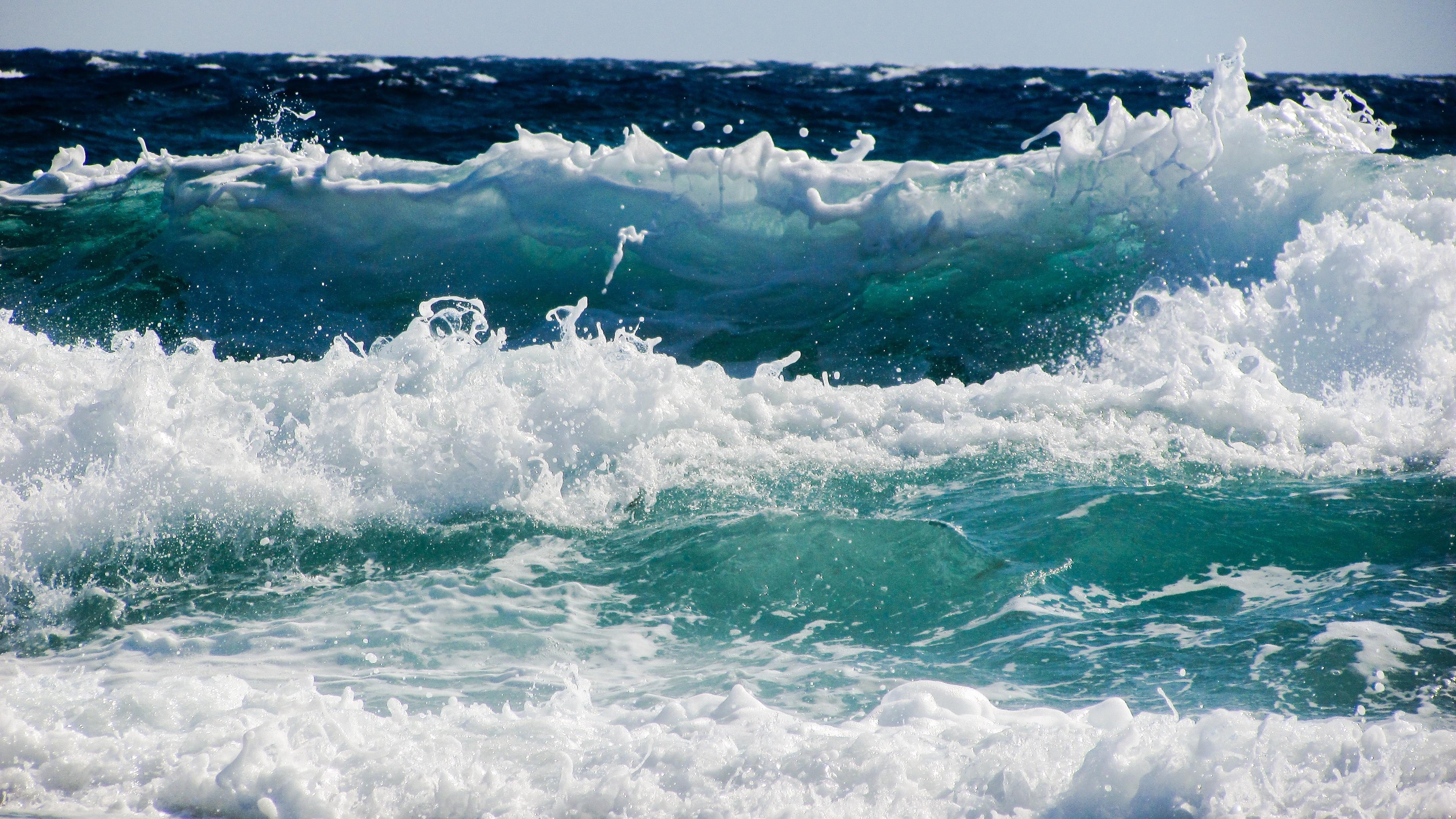 sea wave foam spray surf 4k 1541113994 - sea, wave, foam, spray, surf 4k - Wave, Sea, foam