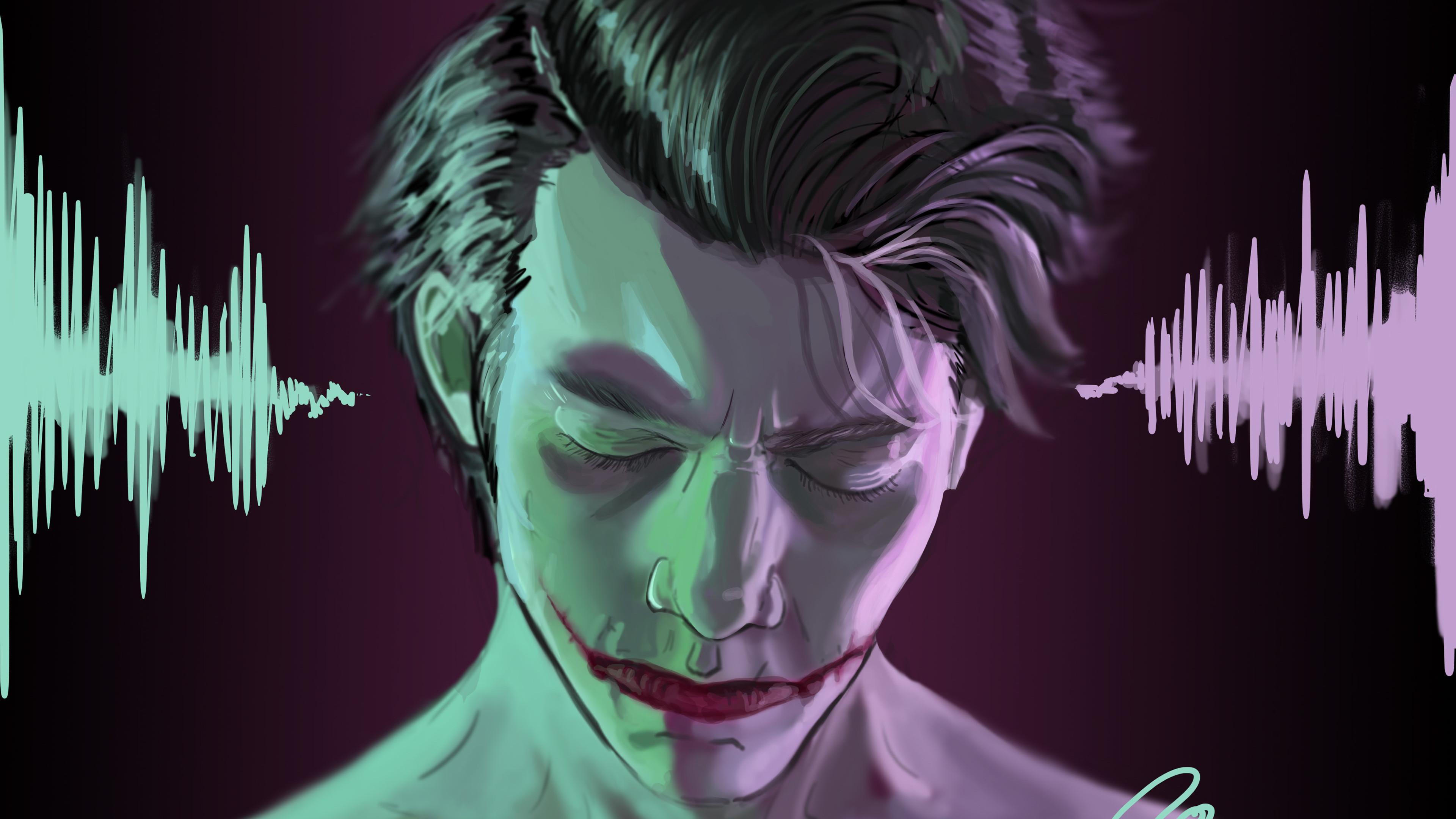 sensitive side joker 1543620287 - Sensitive Side Joker - supervillain wallpapers, superheroes wallpapers, joker wallpapers, hd-wallpapers, digital art wallpapers, behance wallpapers, artwork wallpapers, artist wallpapers, 4k-wallpapers