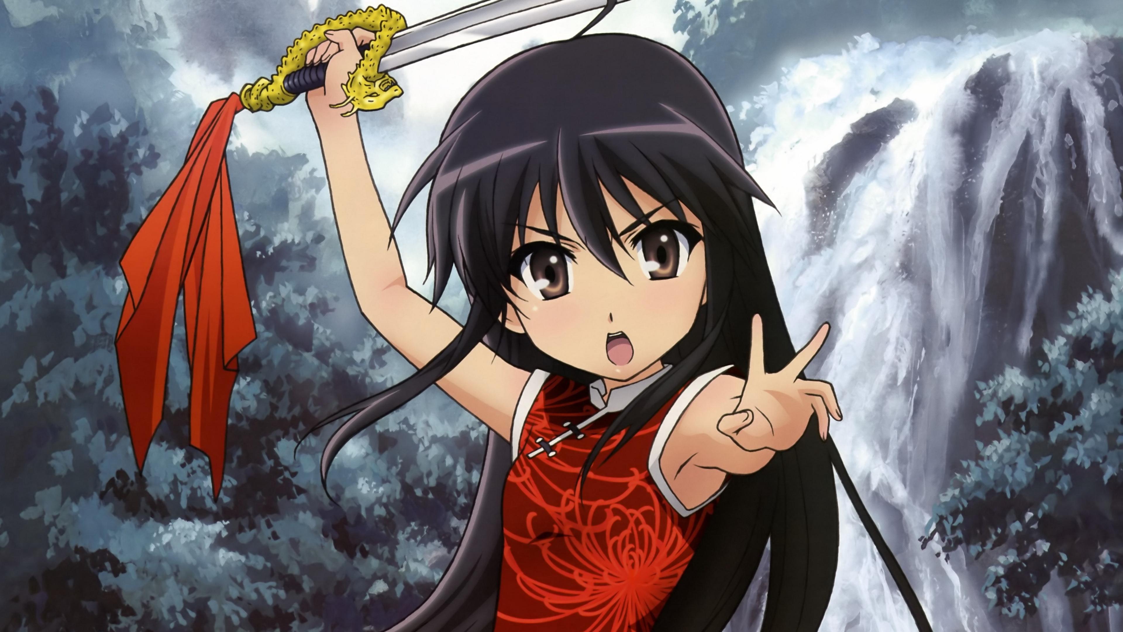 shakugan no shana girl brunette sword warrior 4k 1541975607 - shakugan no shana, girl, brunette, sword, warrior 4k - shakugan no shana, Girl, brunette