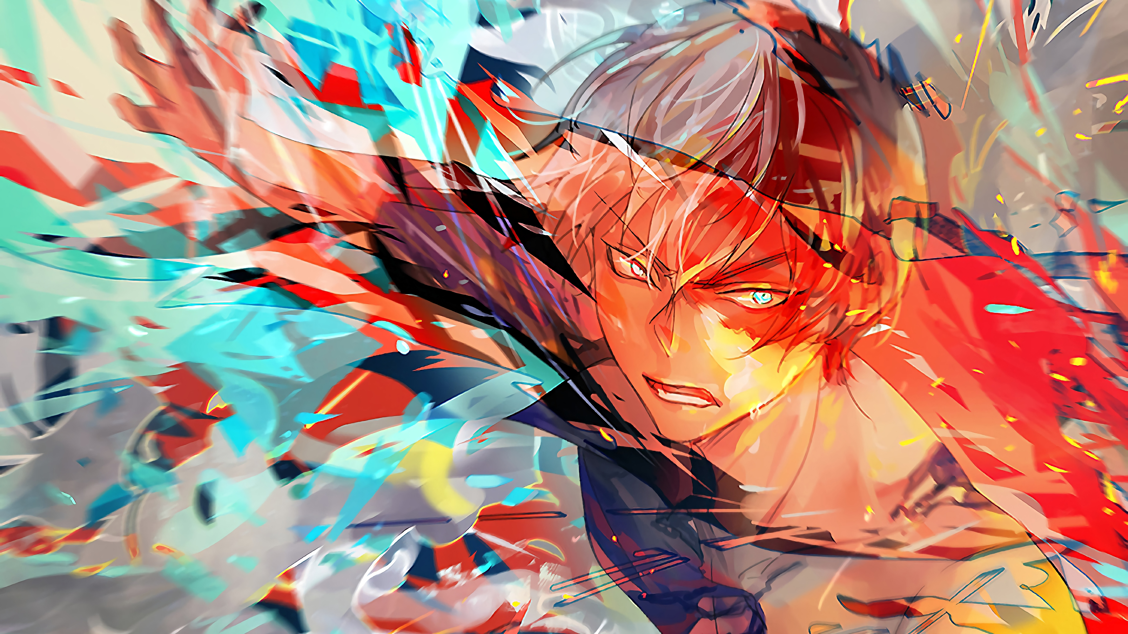 Wallpaper 4k Shoto Todoroki My Hero Academia 4k Wallpapers Anime