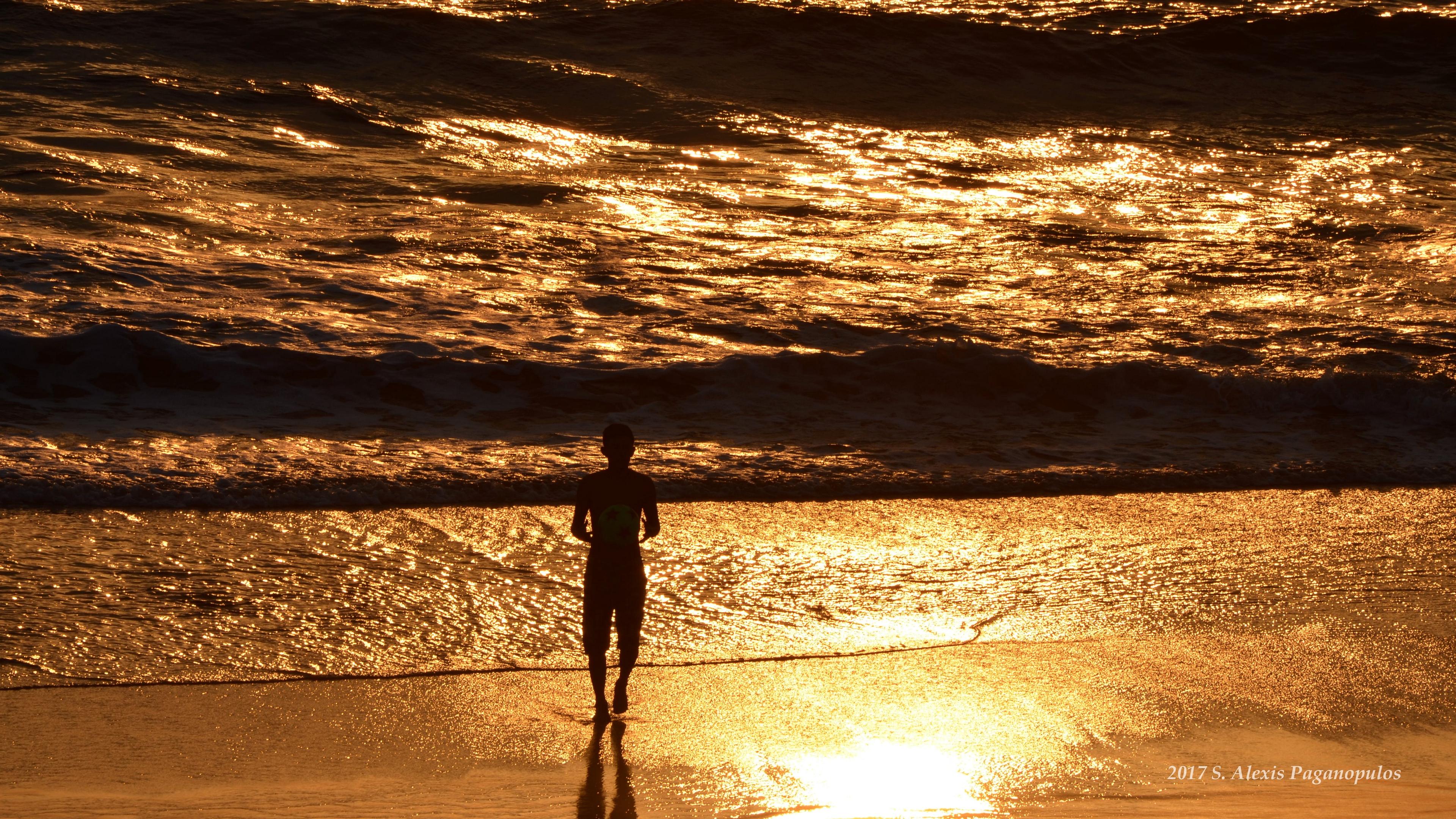silhouette sea surf sunset 4k 1541113481 - silhouette, sea, surf, sunset 4k - surf, Silhouette, Sea