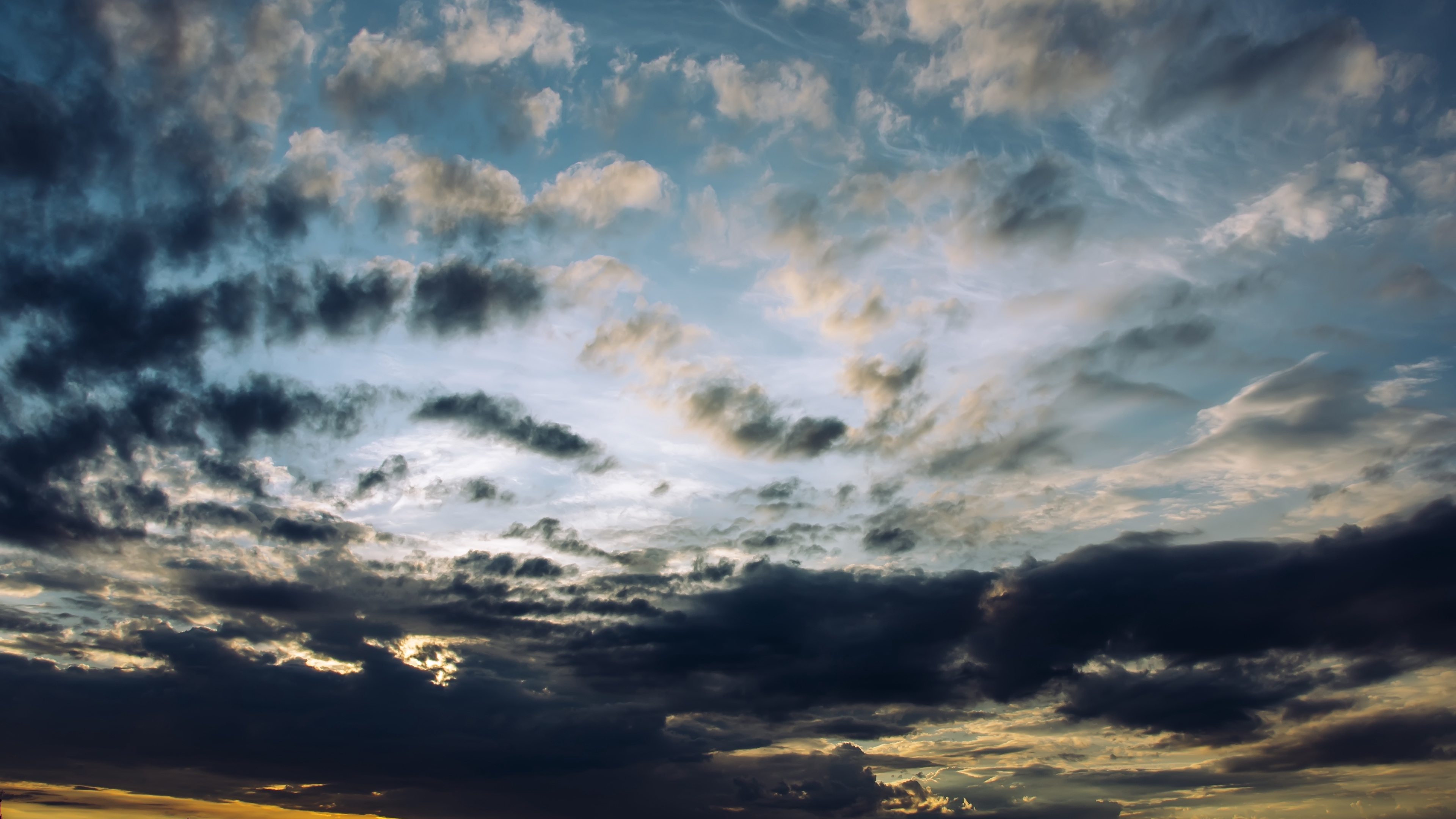 sky clouds overcast 4k 1541115955 - sky, clouds, overcast 4k - Sky, overcast, Clouds
