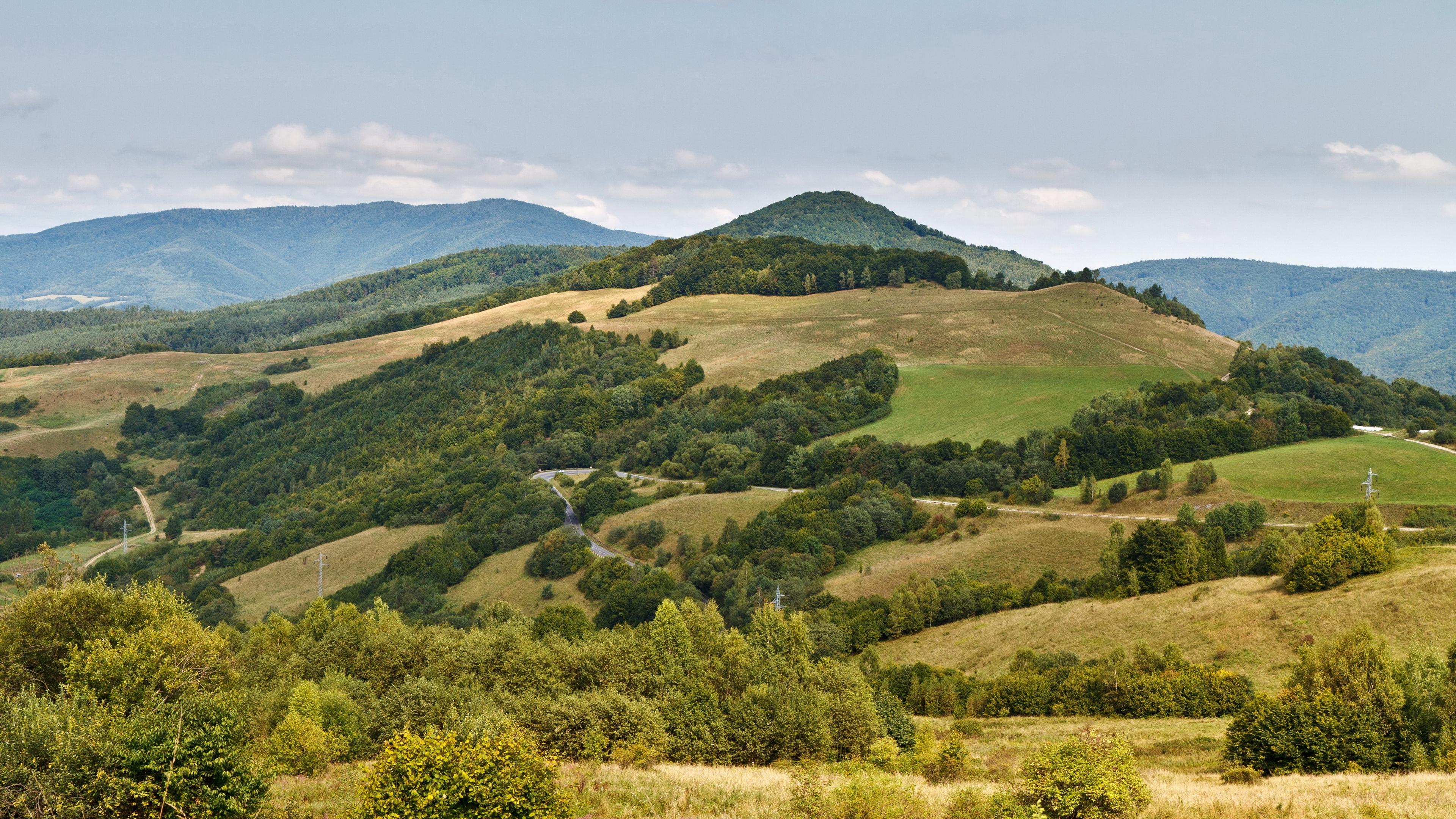 slovakia mountains grass sky 4k 1541116115 - slovakia, mountains, grass, sky 4k - slovakia, Mountains, Grass