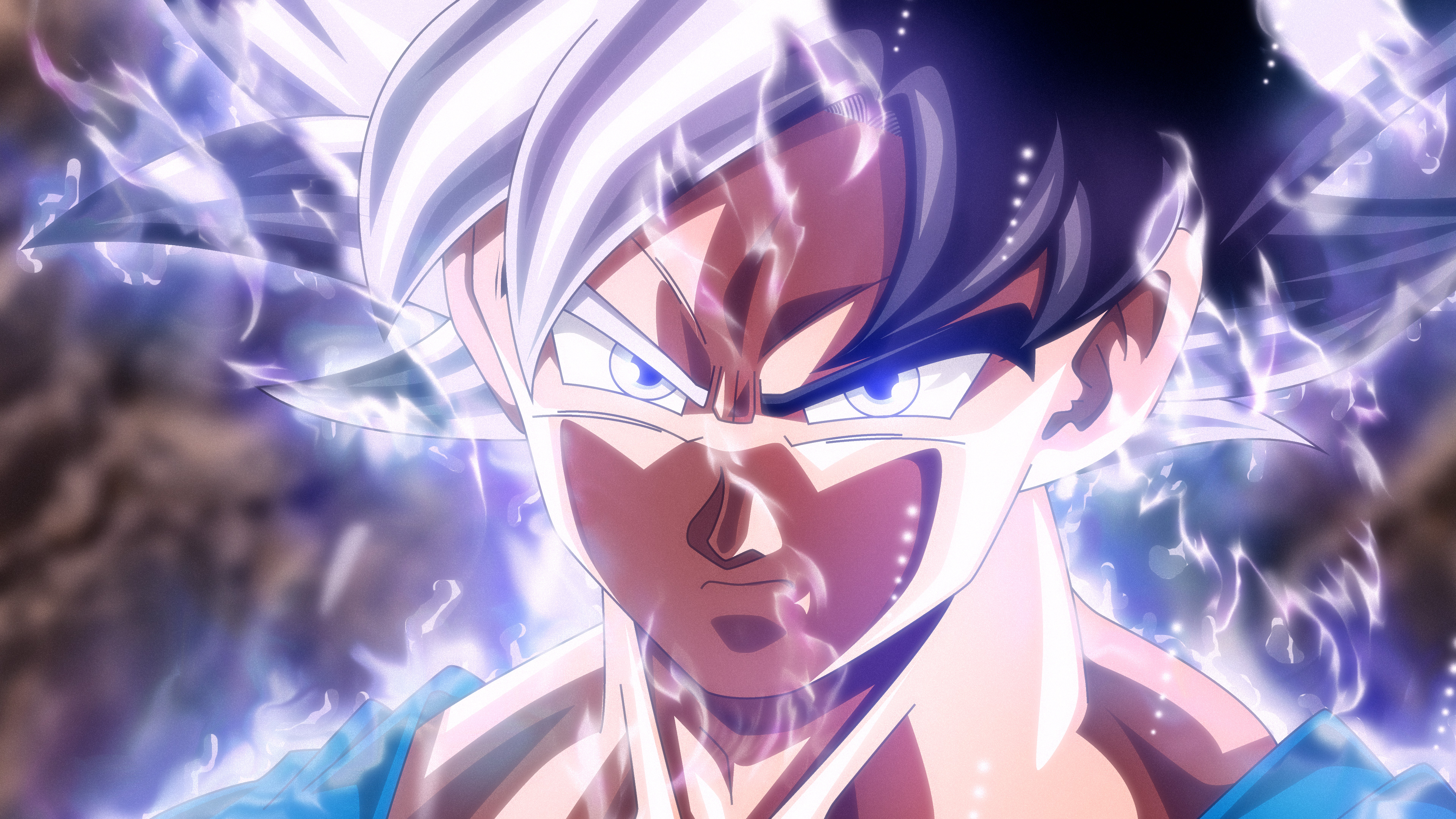 Wallpaper 4k Son Goku Mastered Ultra Instinct 4k Wallpapers
