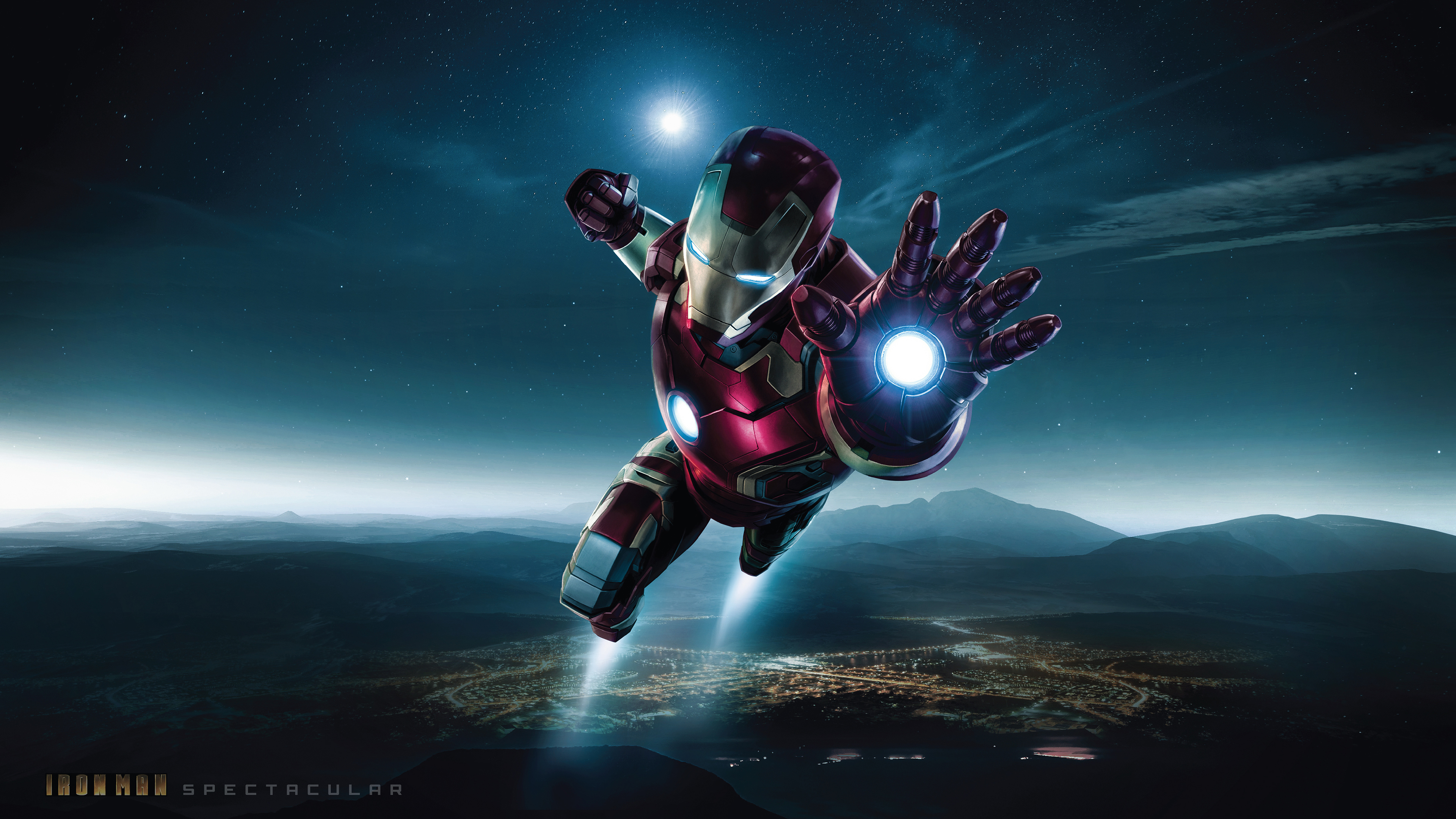 Wallpaper 4k Spectacular Iron Man 4k 4k Wallpapers Artist