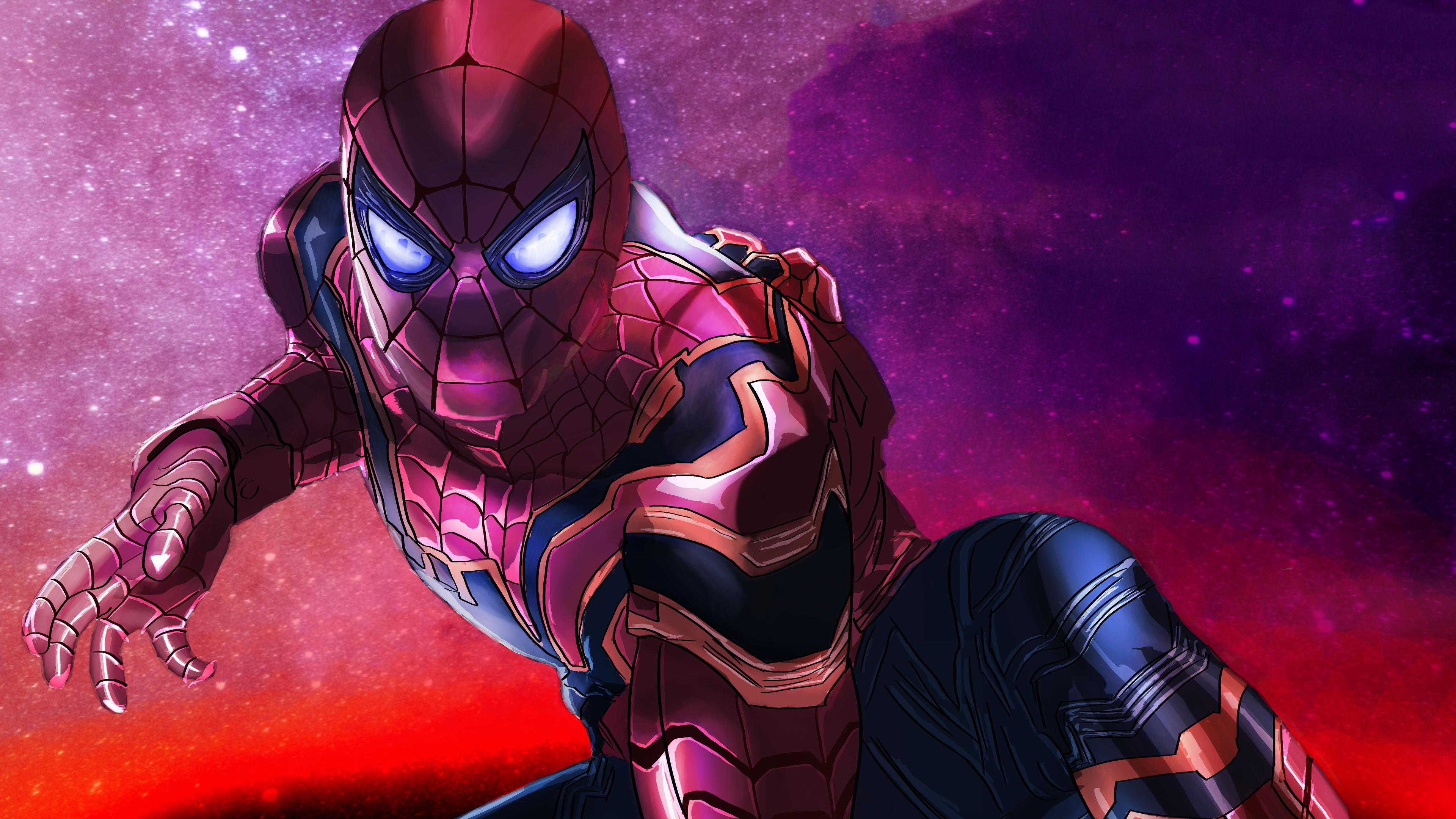 spiderman 4k avengers infinity war 1543620063 - Spiderman 4k Avengers Infinity War - superheroes wallpapers, spiderman wallpapers, hd-wallpapers, digital art wallpapers, avengers-infinity-war-wallpapers, artwork wallpapers, 4k-wallpapers