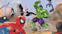 spiderman and spider woman team versus the hulk 1543620129 200x110 - SpiderMan And Spider Woman Team Versus The Hulk - superheroes wallpapers, spiderman wallpapers, hulk wallpapers, hd-wallpapers, gwen stacy wallpapers, digital art wallpapers, deviantart wallpapers, artwork wallpapers, art wallpapers, 4k-wallpapers