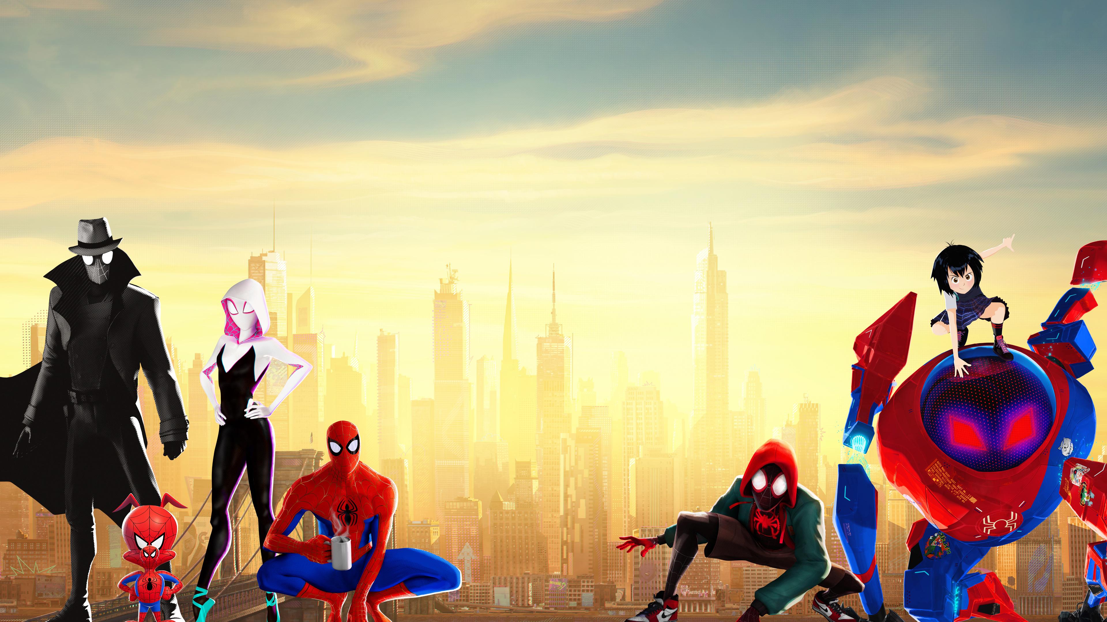 Wallpaper 4k Spiderman Into The Spider Verse 4k 10k Wallpapers