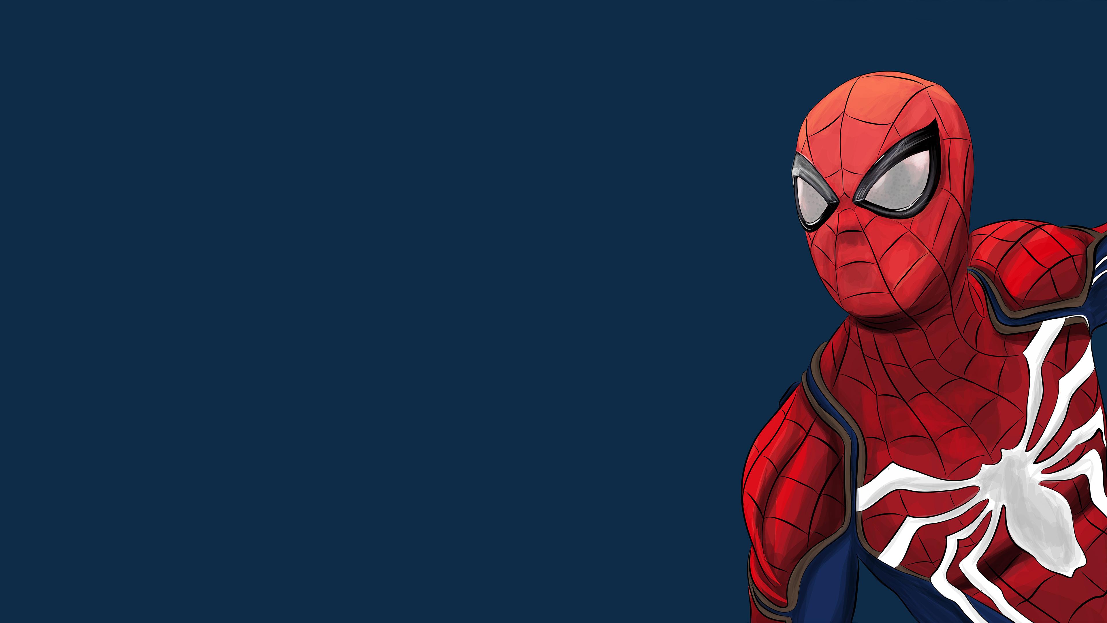 Spiderman Ps4 Artwork 4k 2018 superheroes wallpapers ...