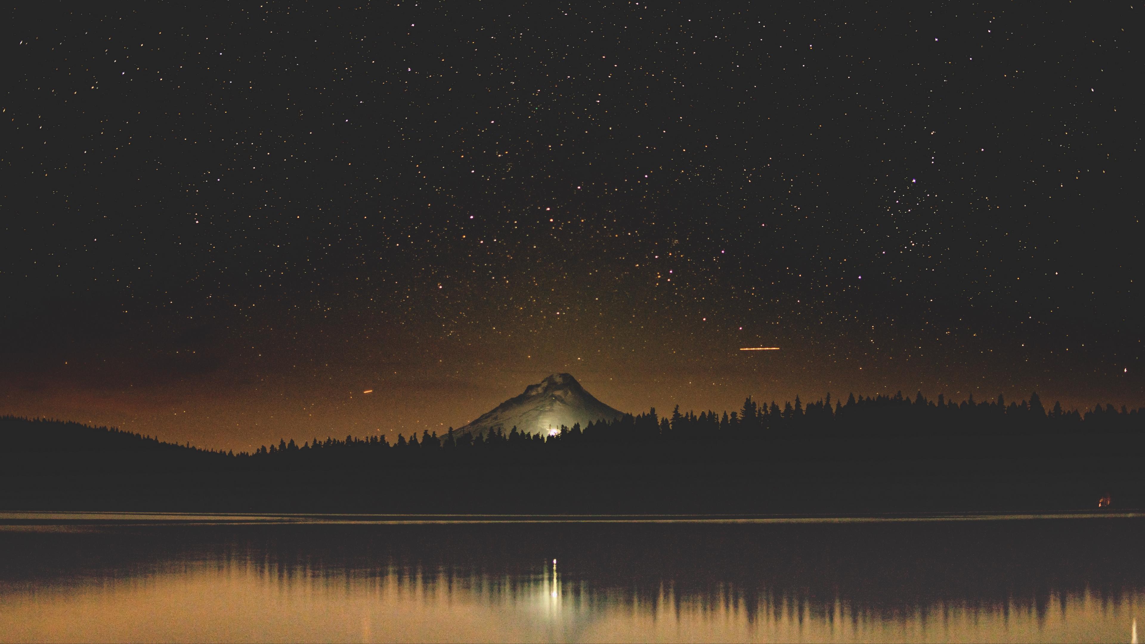 starry sky lake mountain trees night timothy lake united states 4k 1541117448 - starry sky, lake, mountain, trees, night, timothy lake, united states 4k - starry sky, Mountain, Lake