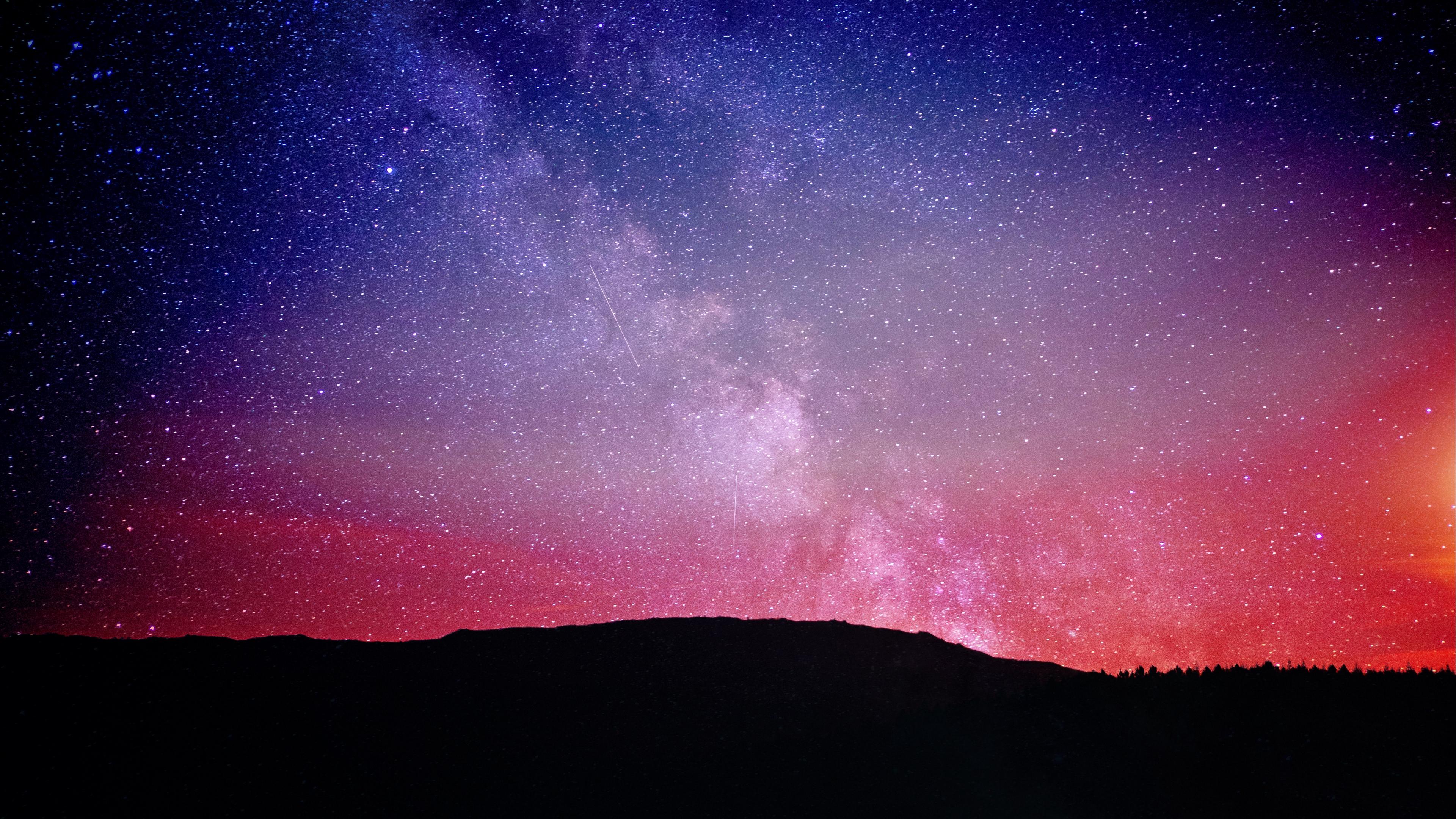 starry sky stars night 4k 1541115024 - starry sky, stars, night 4k - Stars, starry sky, Night