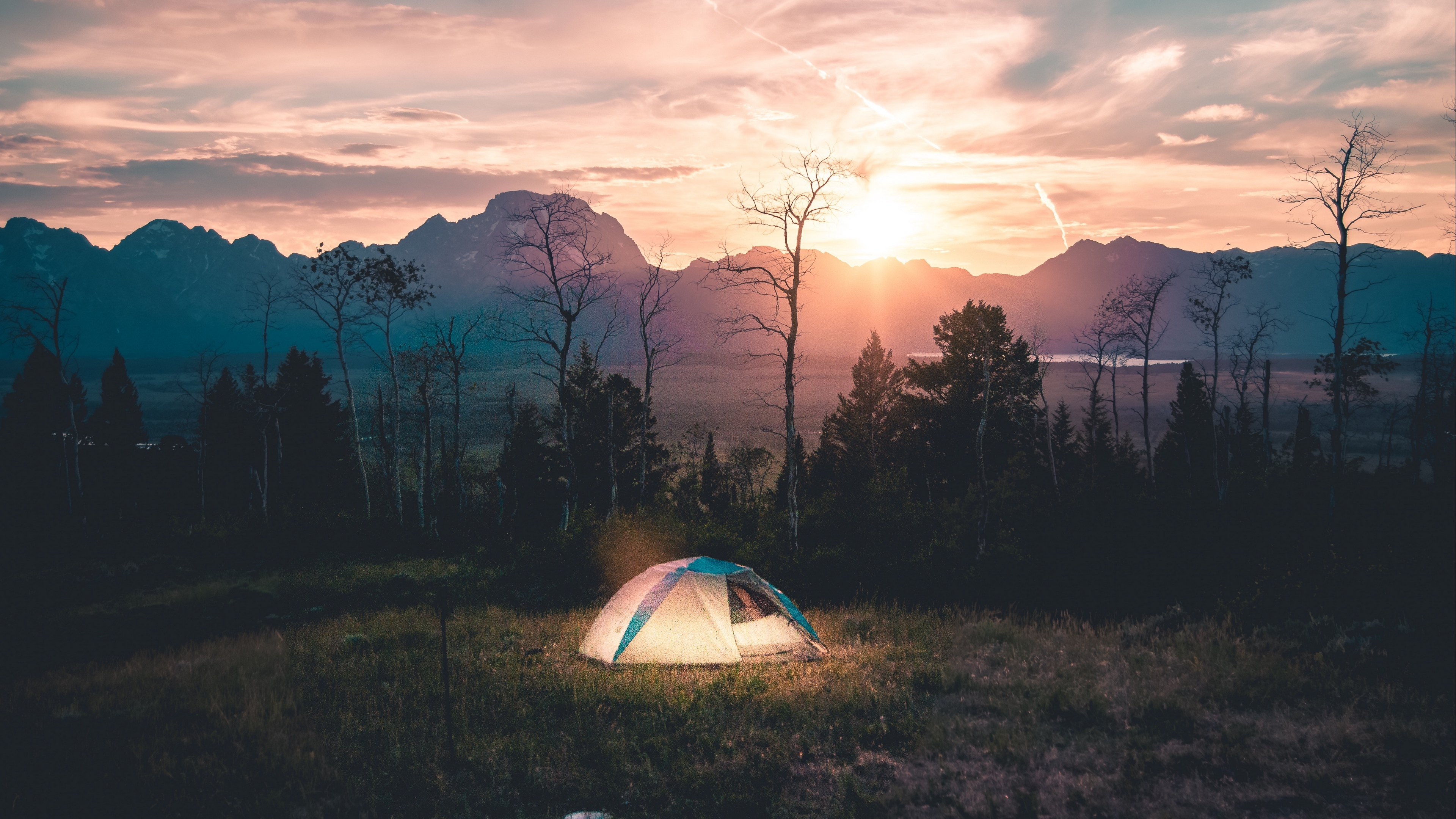 tent camping landscape 4k 1541114049 - tent, camping, landscape 4k - tent, Landscape, Camping