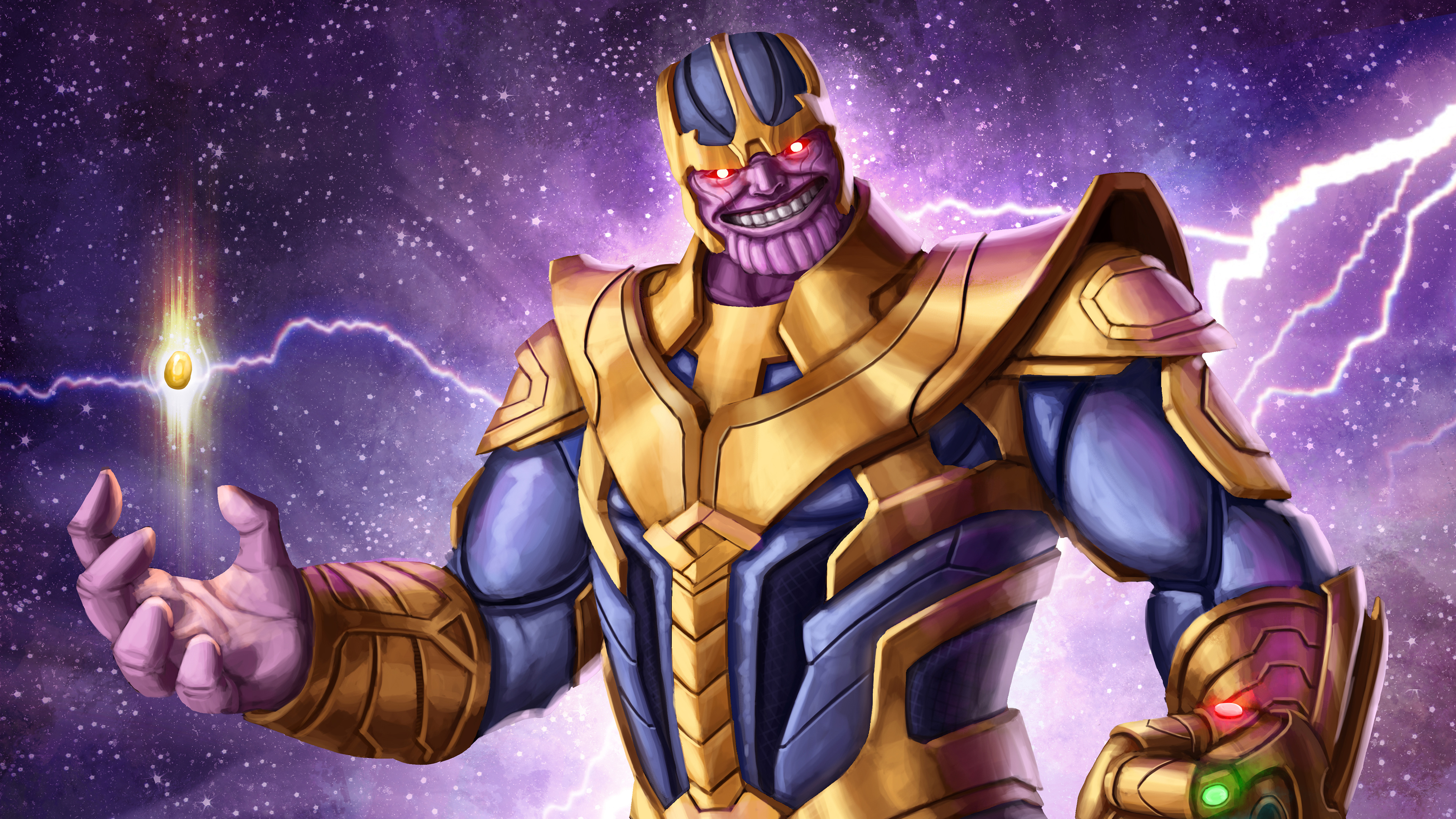 Thanos 4k Arts thanos-wallpapers, superheroes wallpapers ...