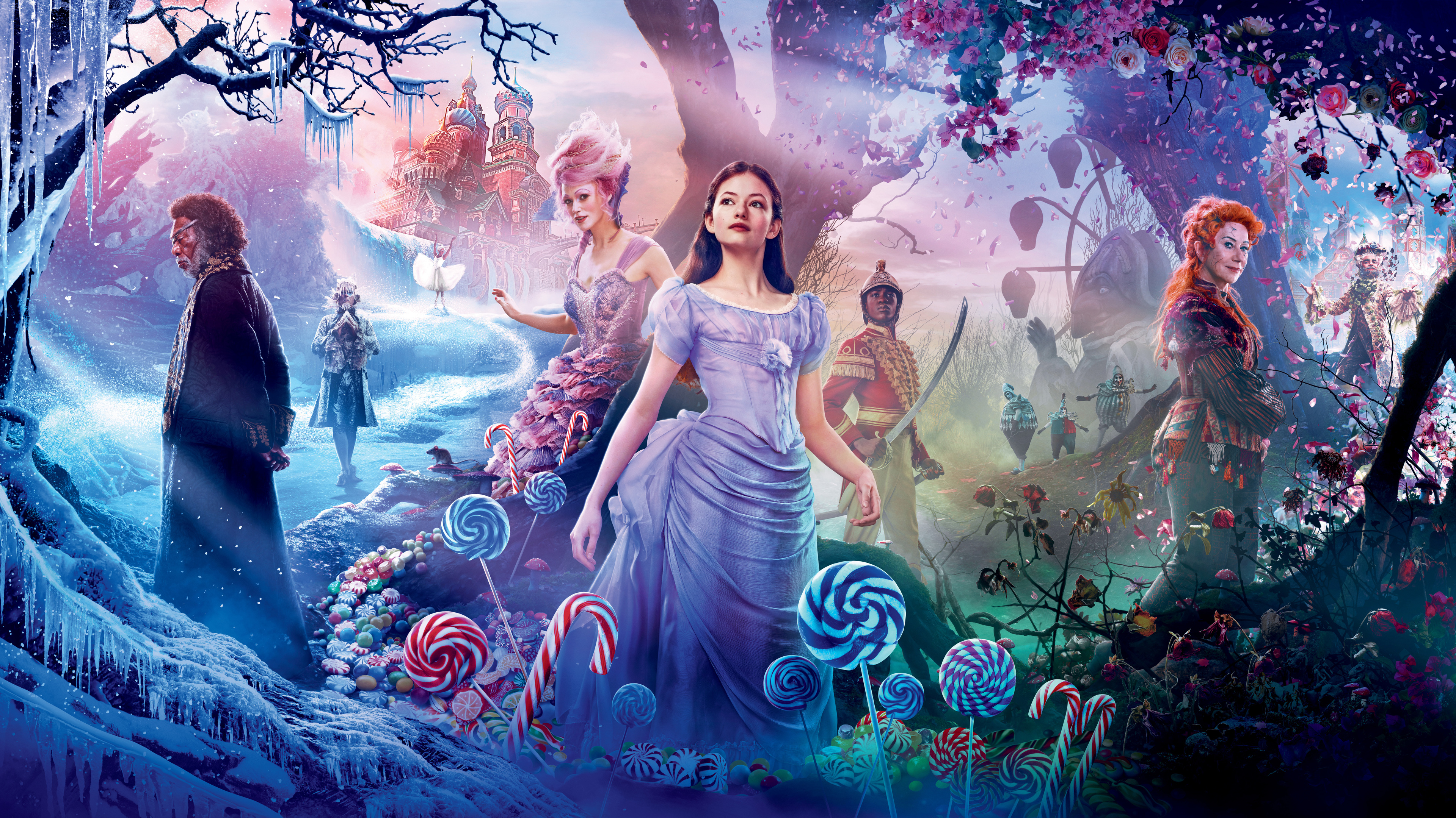 the nutcracker and the four realms 2018 4k 1541719525 - The Nutcracker And The Four Realms 2018 4k - the nutcracker and the four realms wallpapers, movies wallpapers, hd-wallpapers, 4k-wallpapers, 2018-movies-wallpapers