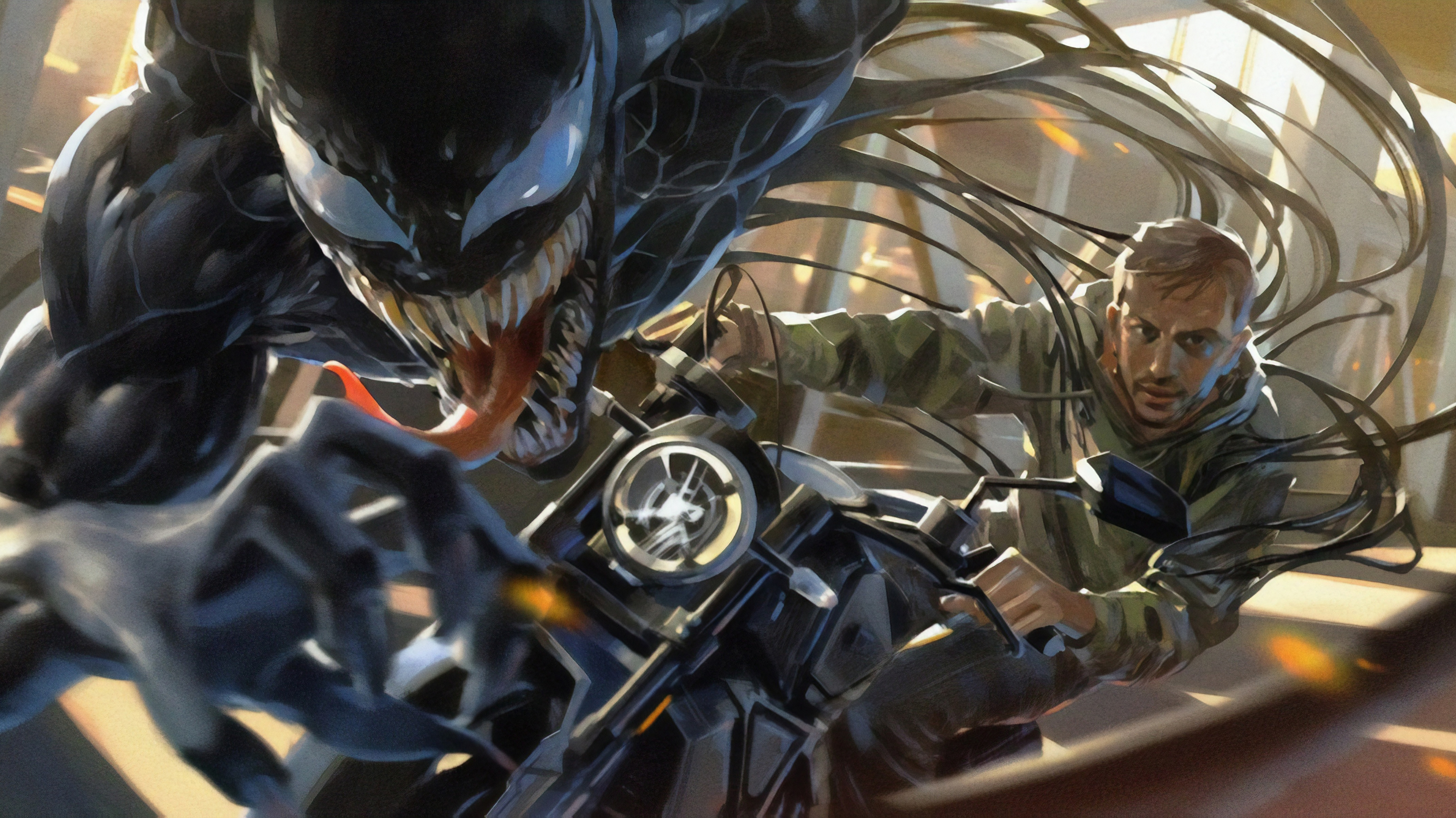 tom hardy as eddie brock in venom 4k 1543105171 - Tom Hardy As Eddie Brock In Venom 4k - Venom wallpapers, venom movie wallpapers, tom hardy wallpapers, movies wallpapers, hd-wallpapers, 4k-wallpapers, 2018-movies-wallpapers