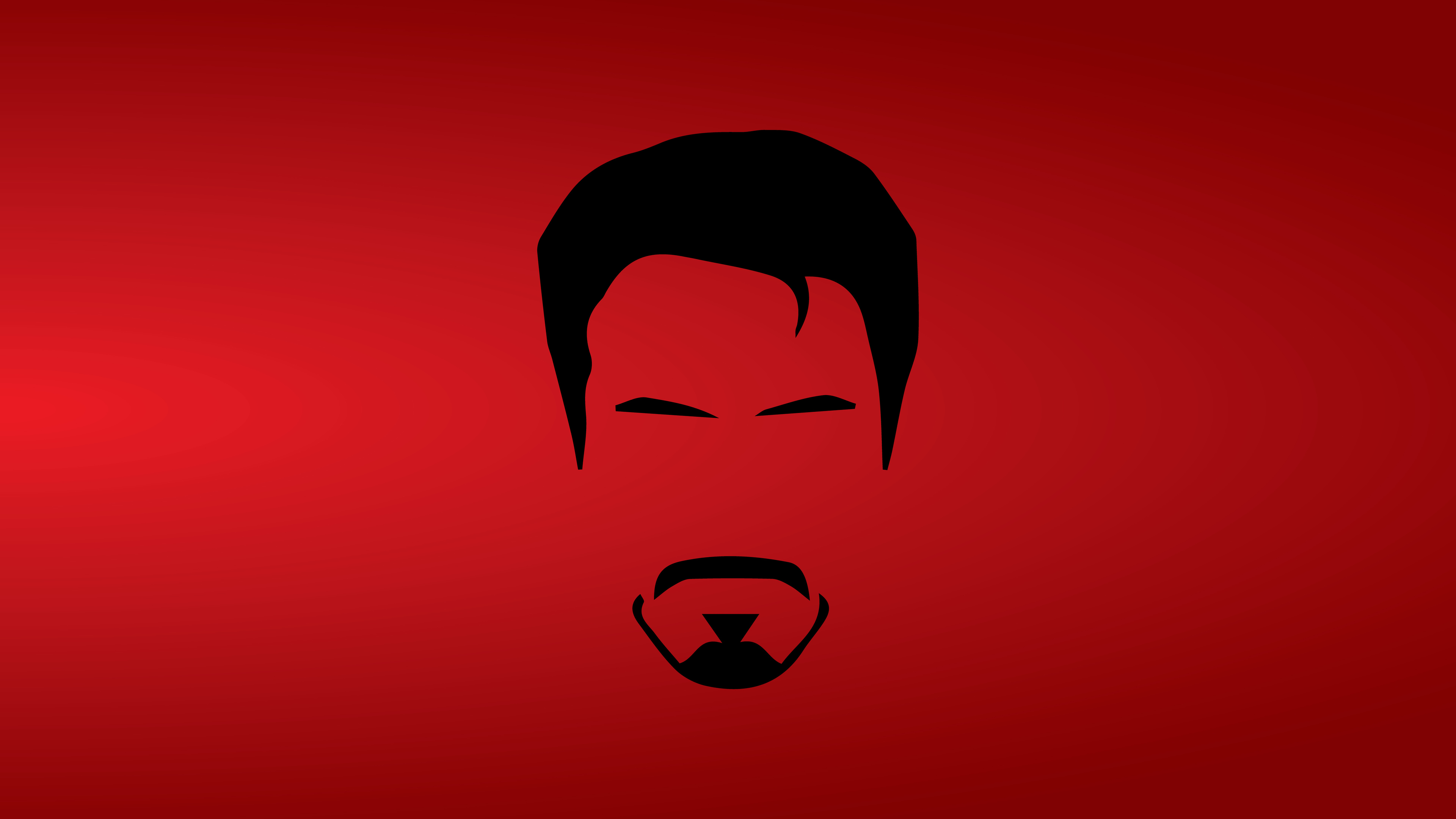 Tony Stark Minimalist 8k Superheroes Wallpapers, Red