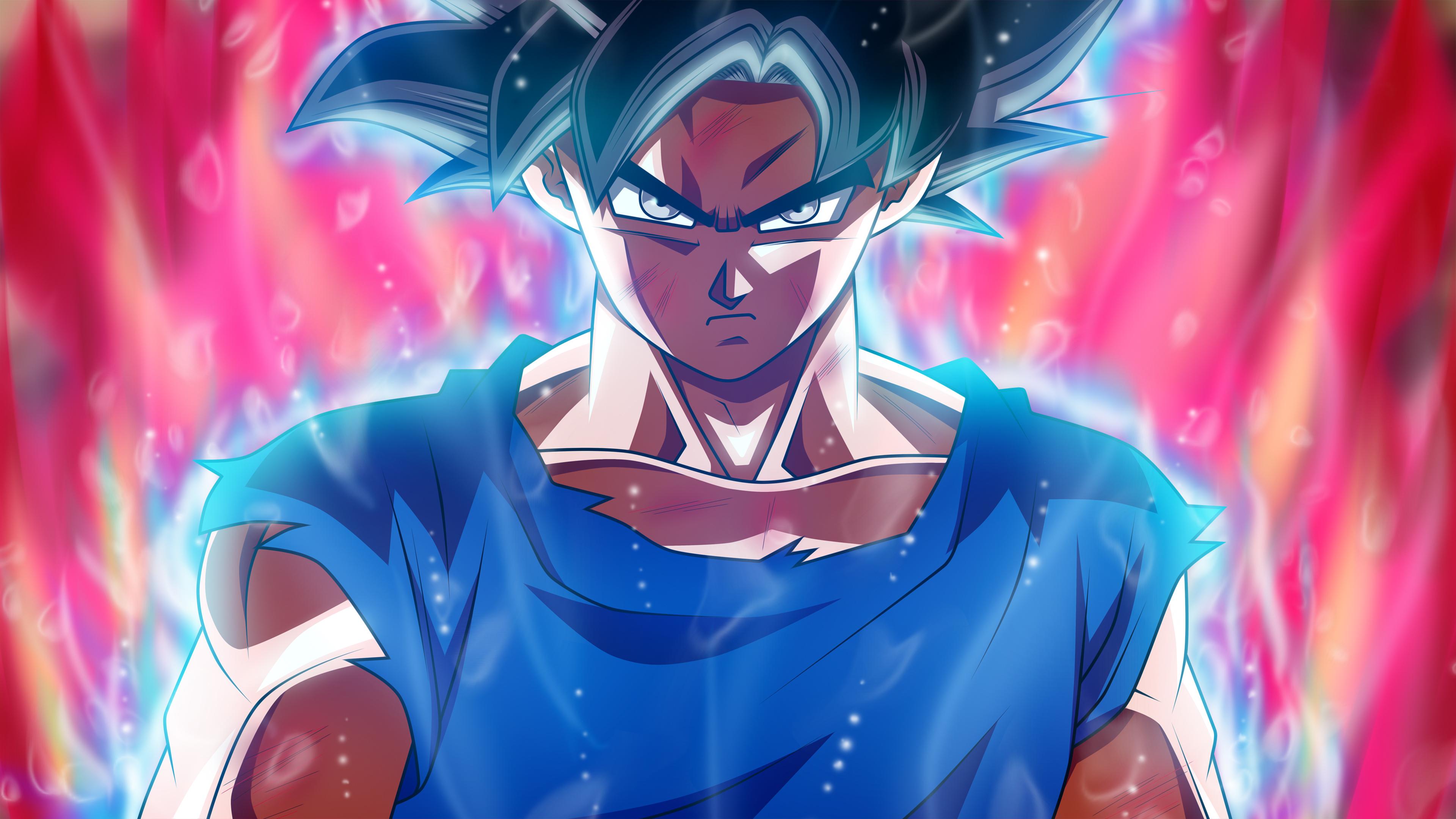 Wallpaper 4k Ultra Instinct Goku 4k 4k Wallpapers Anime