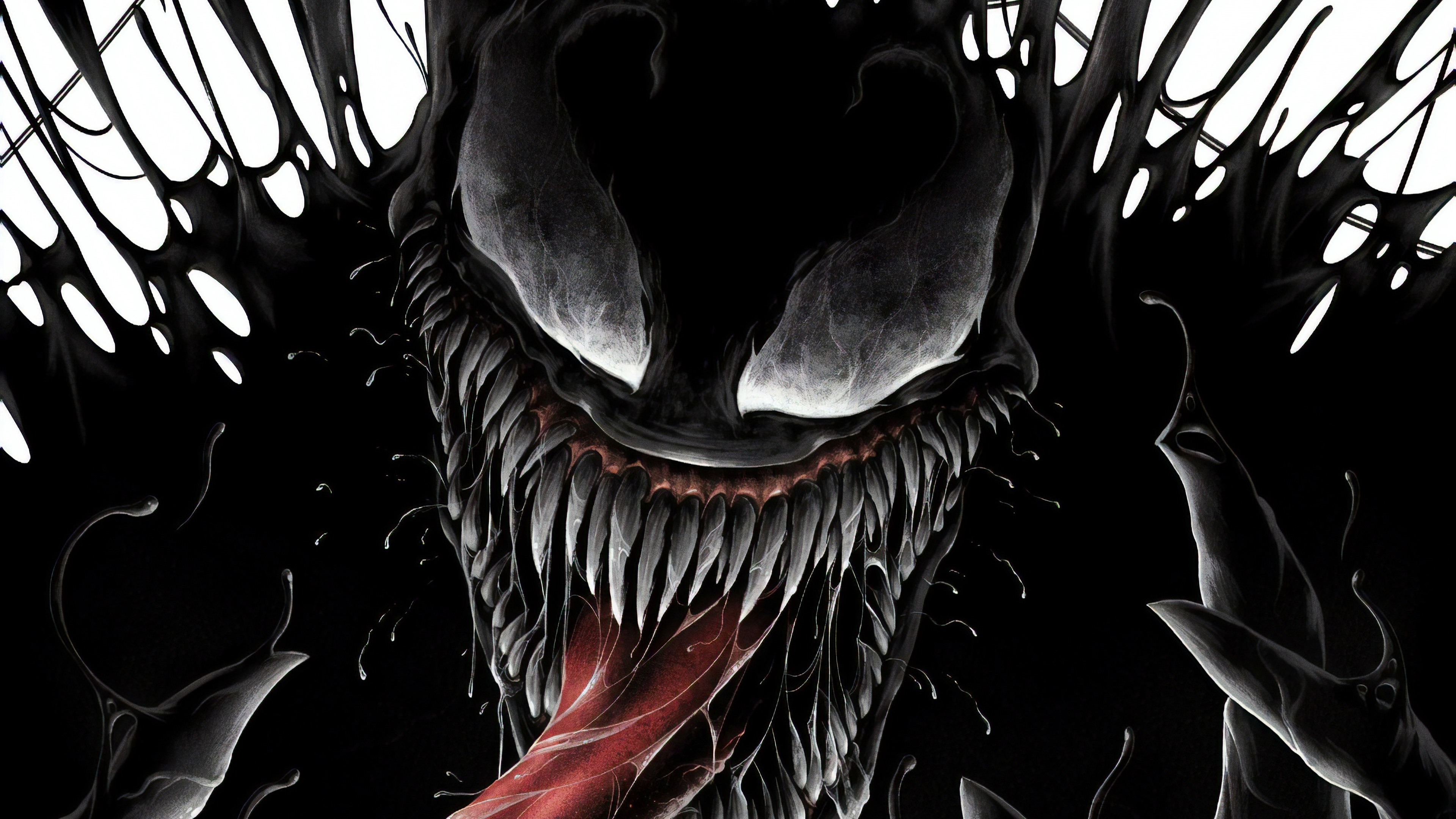 Wallpaper 4k Venom 4k New Poster 2018 Movies Wallpapers 4k