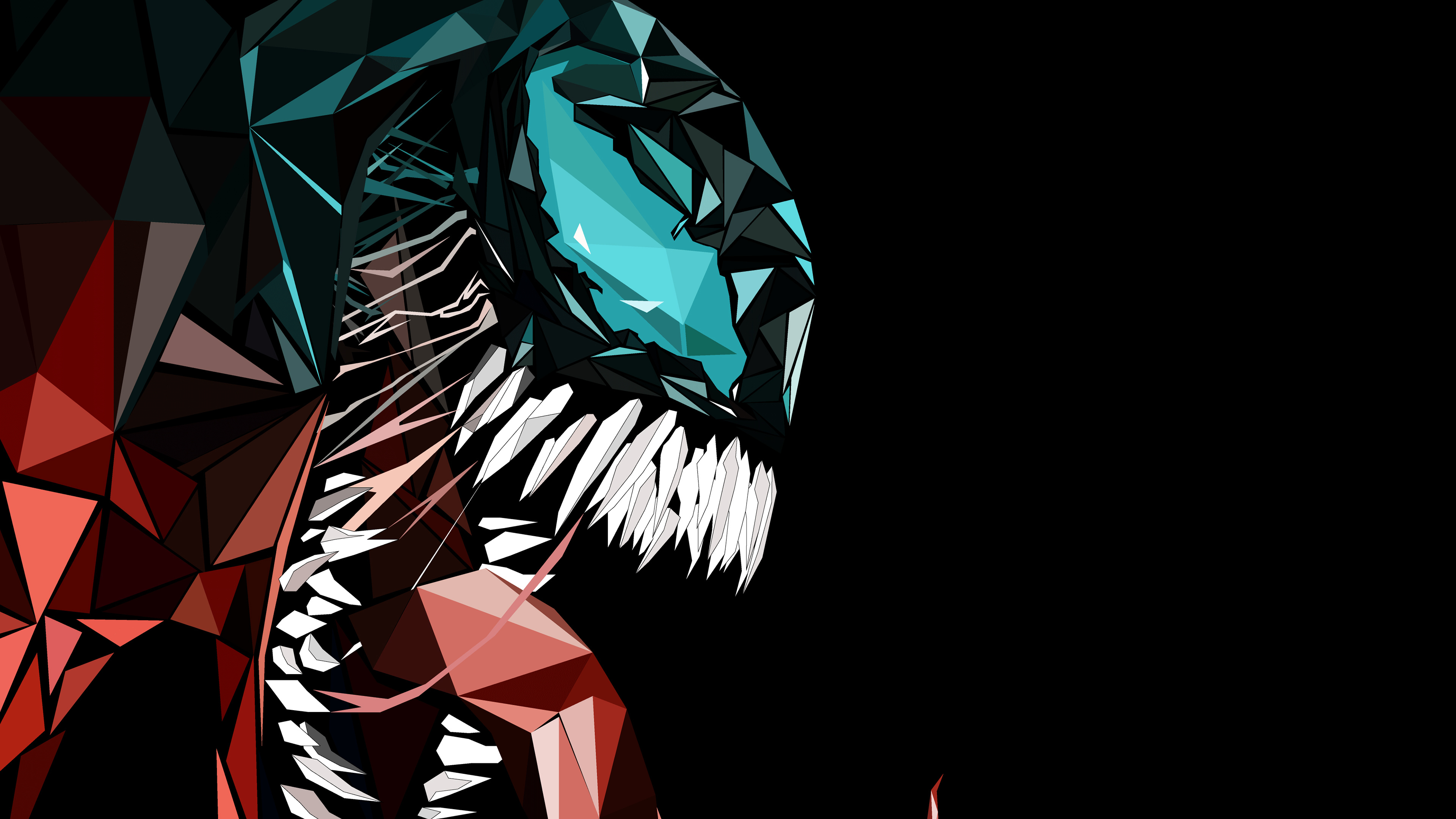 Wallpaper 4k Venom Abstract 4k 4k Wallpapers Artwork Wallpapers