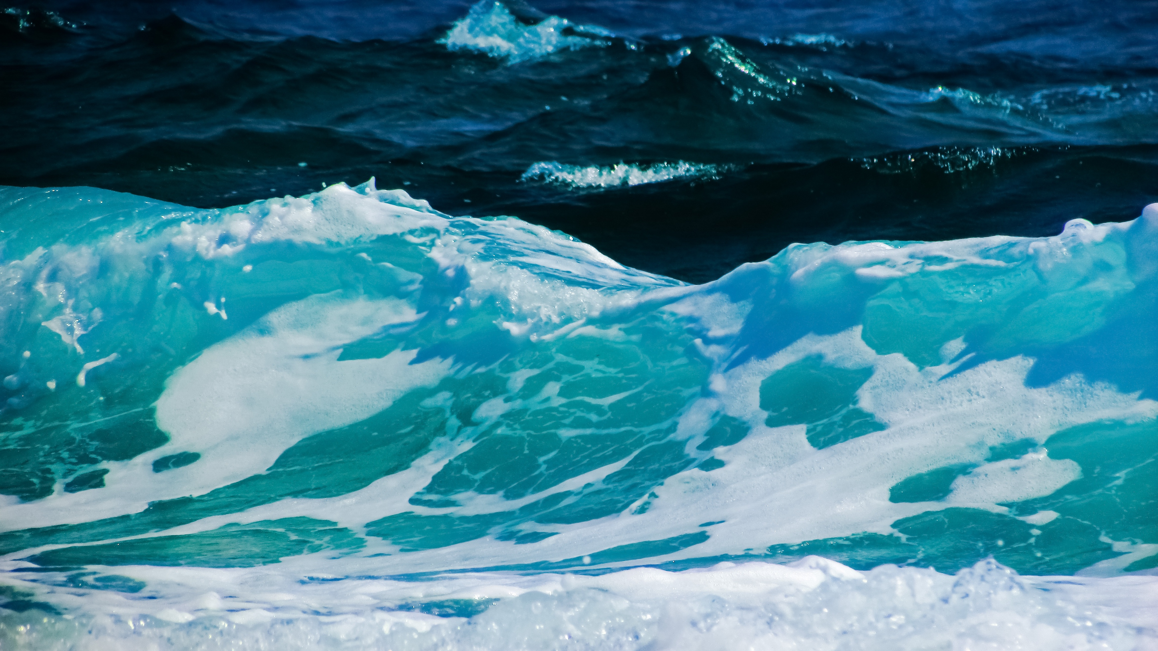 Wallpaper 4k Waves Sea Foam Surf 4k Foam Sea Waves