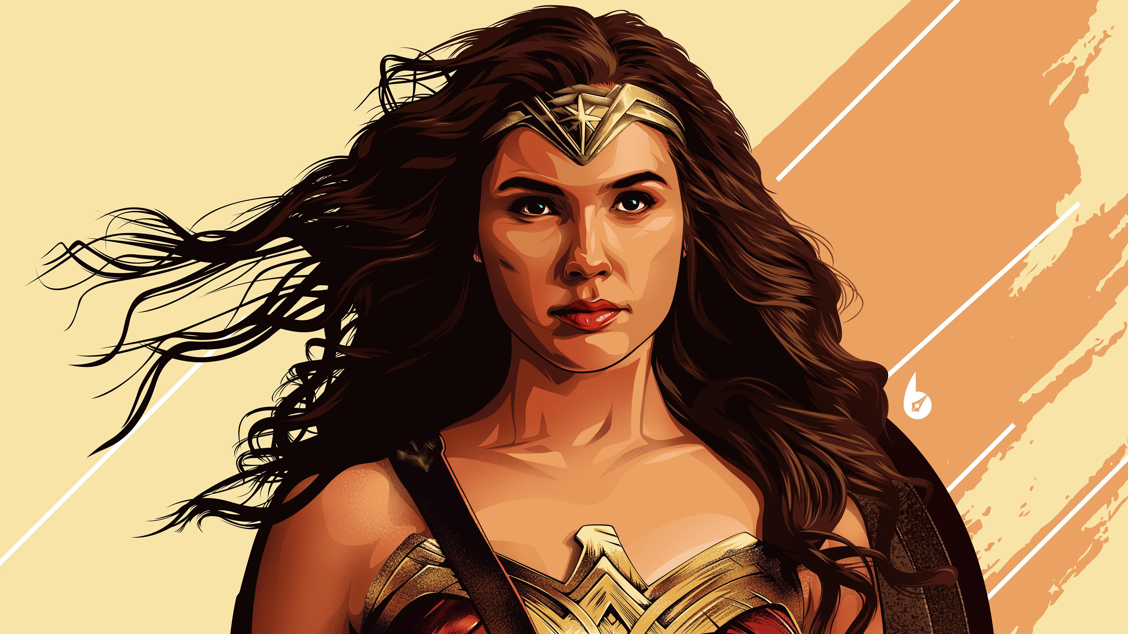 Wallpaper 4k Wonder Woman 4k Arts 4k Wallpapers Artwork Wallpapers