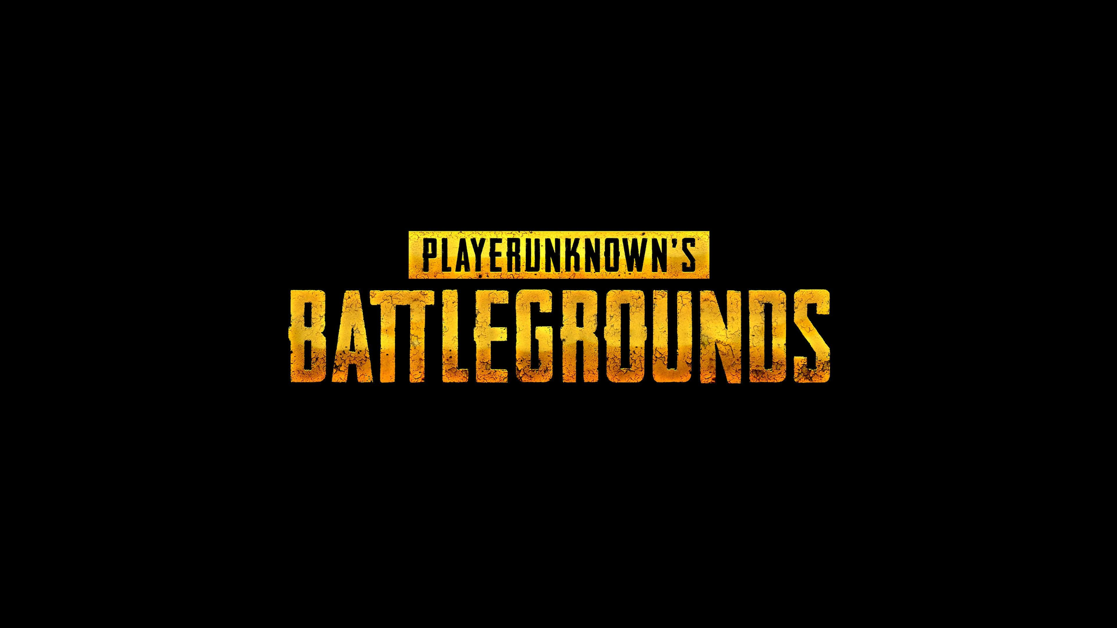 Wallpaper 4k Player Unknown S Battlegrounds Pubg 4k Logo Player