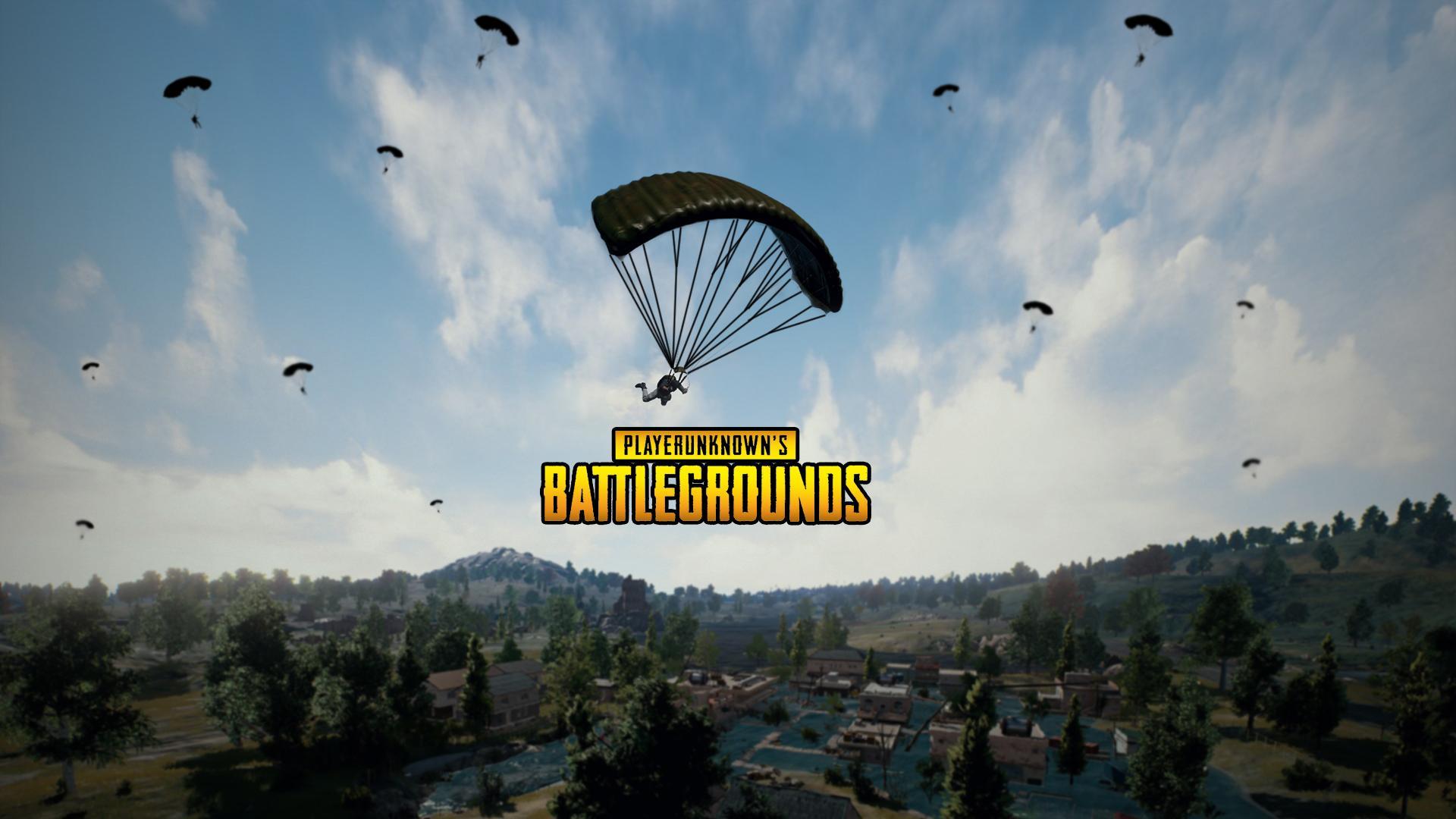 Wallpaper 4k Player Unknown S Battlegrounds Pubg 4k Parachute