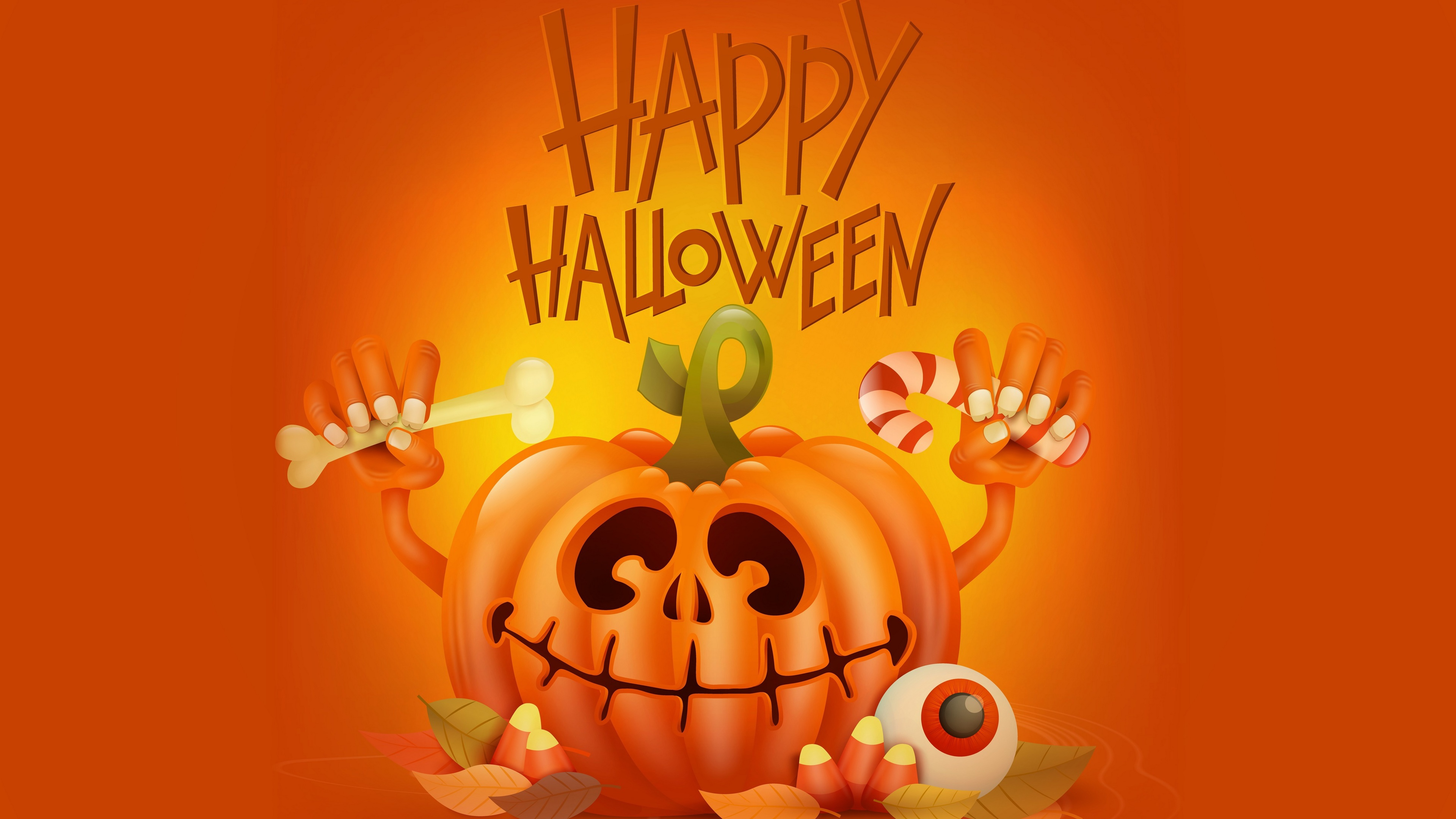 4k happy halloween 1543946472 - 4k Happy Halloween - pumpkin wallpapers, holidays wallpapers, hd-wallpapers, halloween wallpapers, celebrations wallpapers, 5k wallpapers, 4k-wallpapers