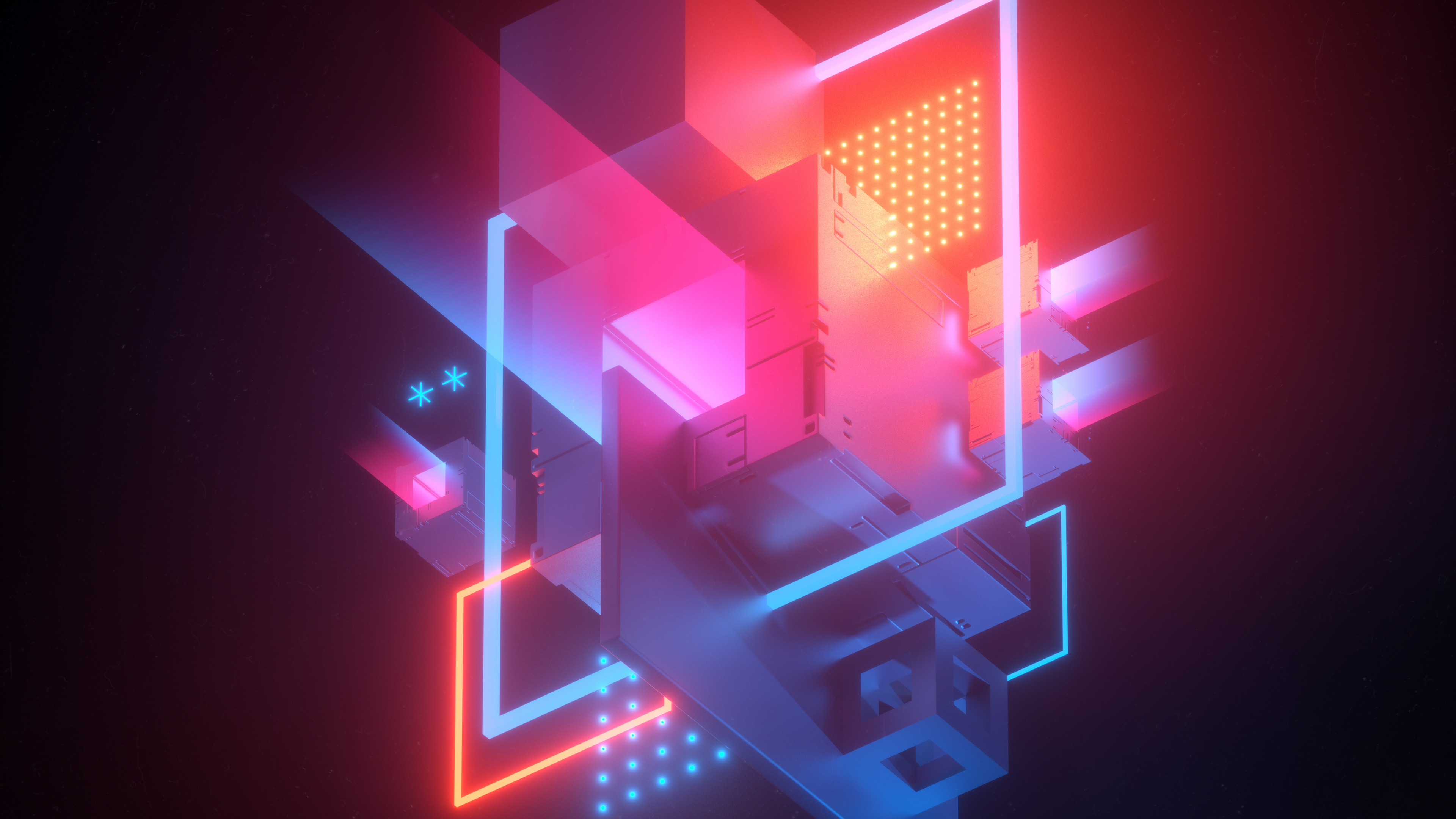 abstract conflict 4k 1546278007 - Abstract Conflict 4k - hd-wallpapers, digital art wallpapers, behance wallpapers, abstract wallpapers, 4k-wallpapers