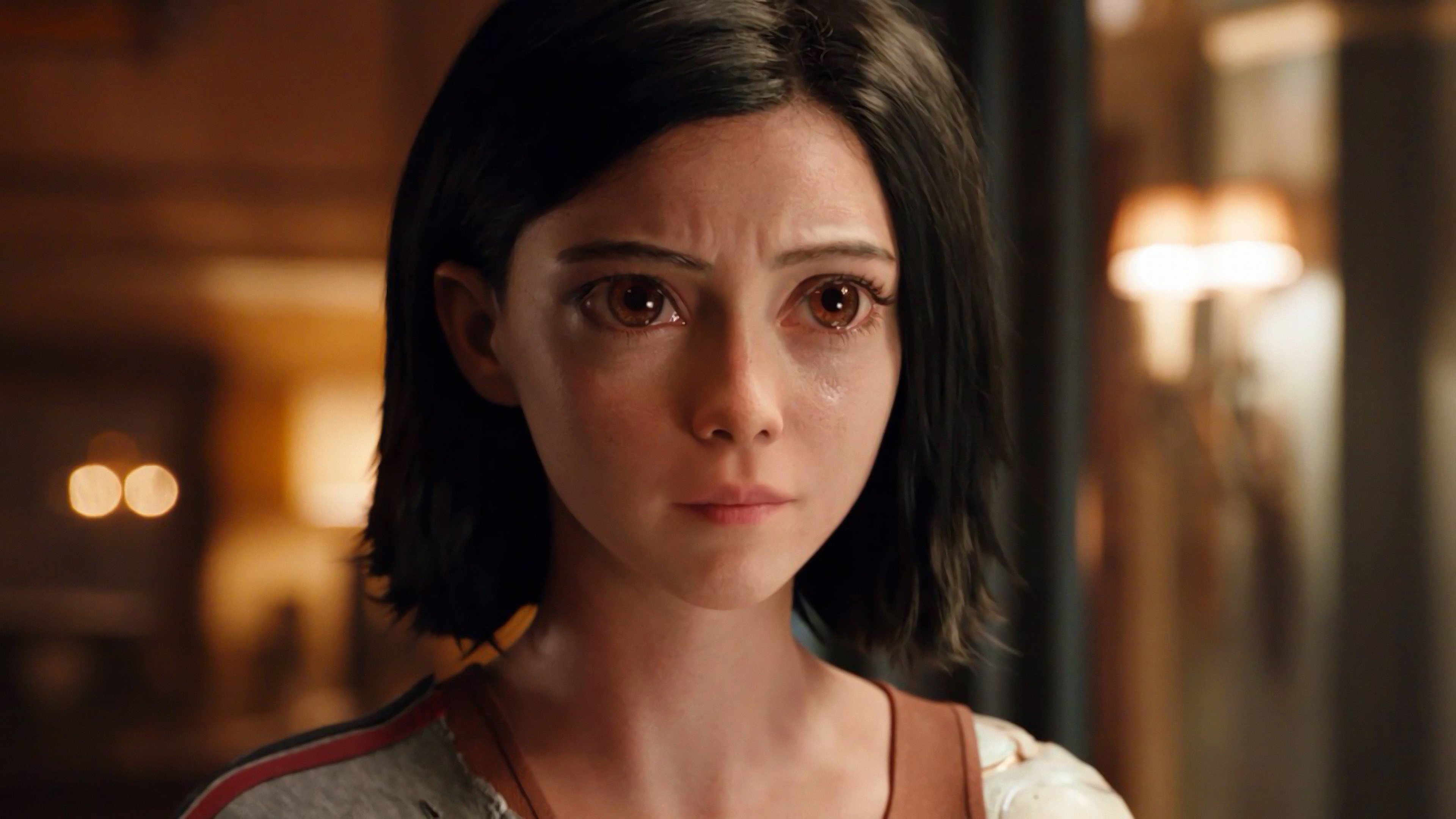 alita battle angel rosa salazar 4k wallpaper 1545590156 - Alita: Battle Angel Rosa Salazar 4K Wallpaper - Alita: Battle Angel (2018)