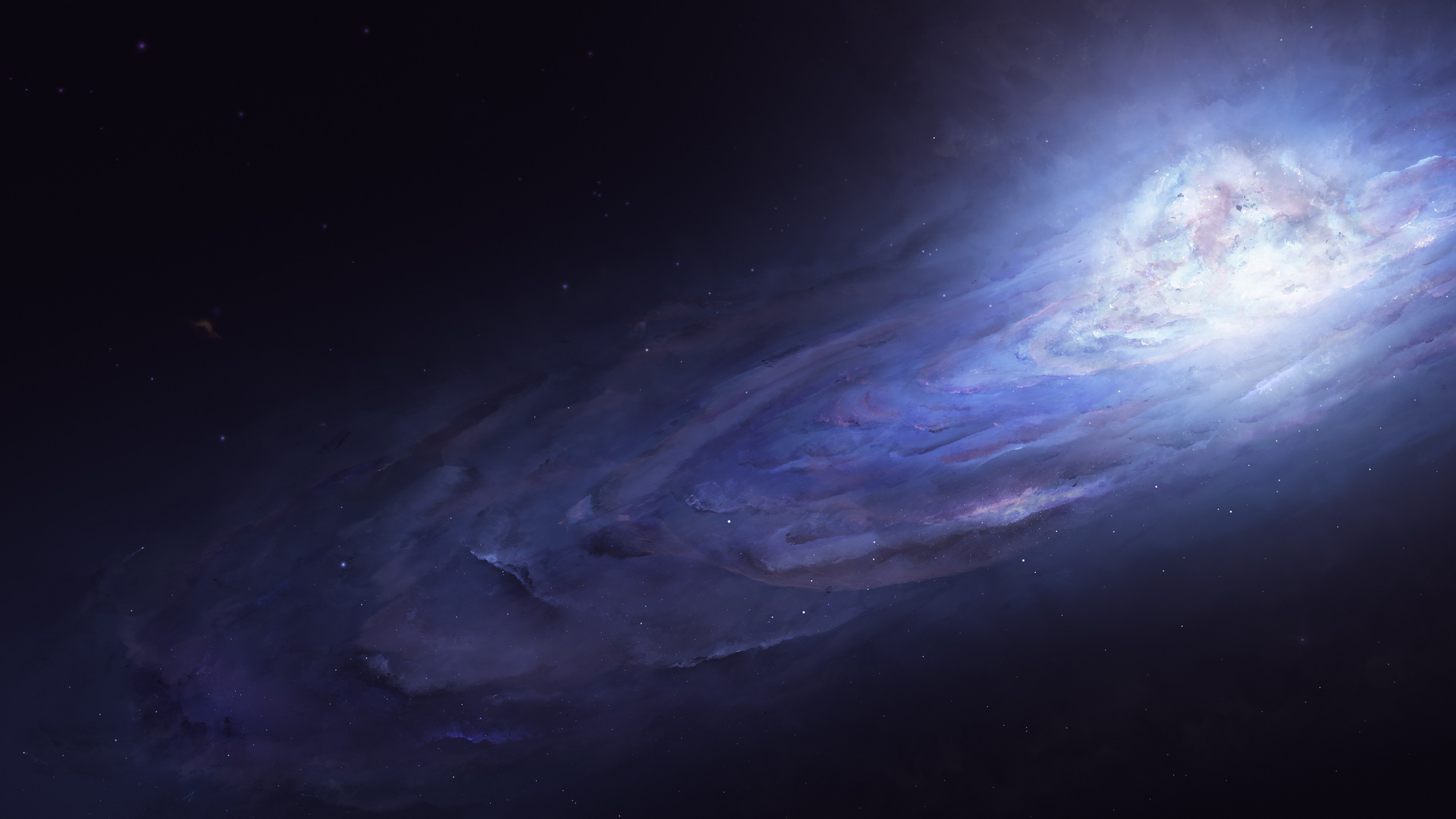 andromeda galaxy 4k 1546278819 - Andromeda Galaxy 4k - galaxy wallpapers, digital universe wallpapers, digital art wallpapers, artist wallpapers