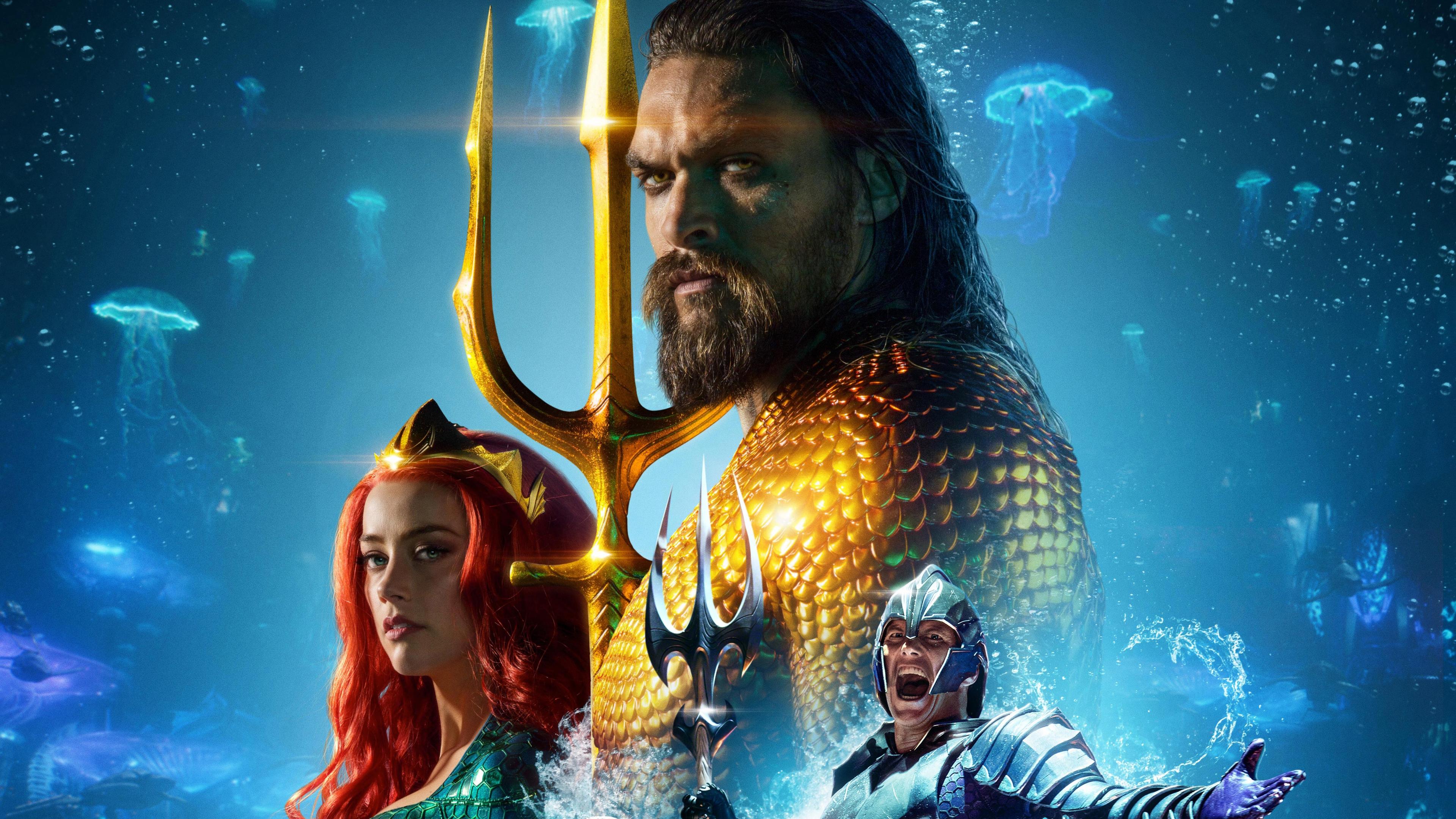 2048x2048 Mera Aquaman Movie Poster Ipad Air Hd 4k: Aquaman International Poster 4k Poster Wallpapers, Movies