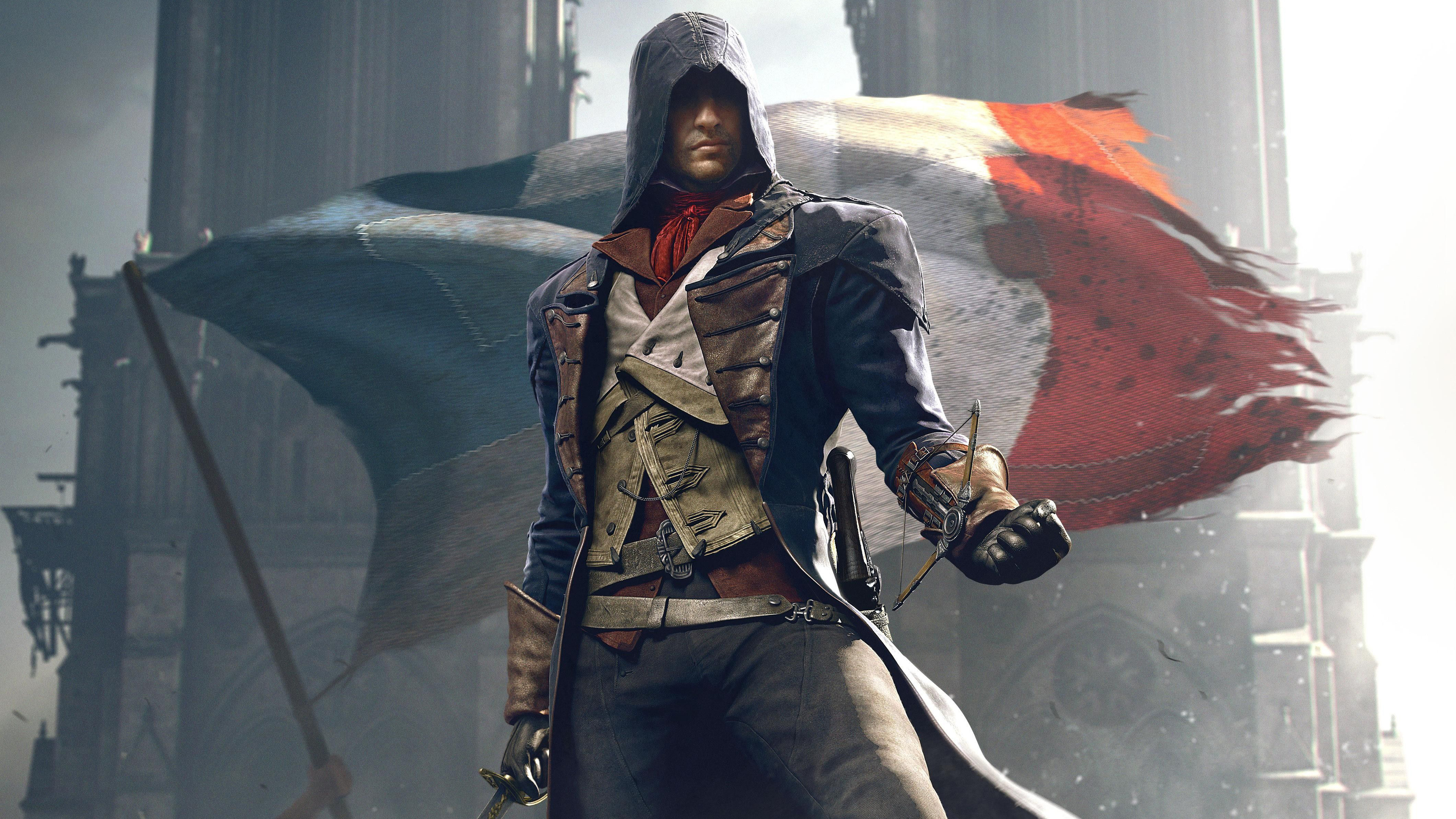 Wallpaper 4k Art Of Assassins Creed Unity 4k 4k Wallpapers Artist