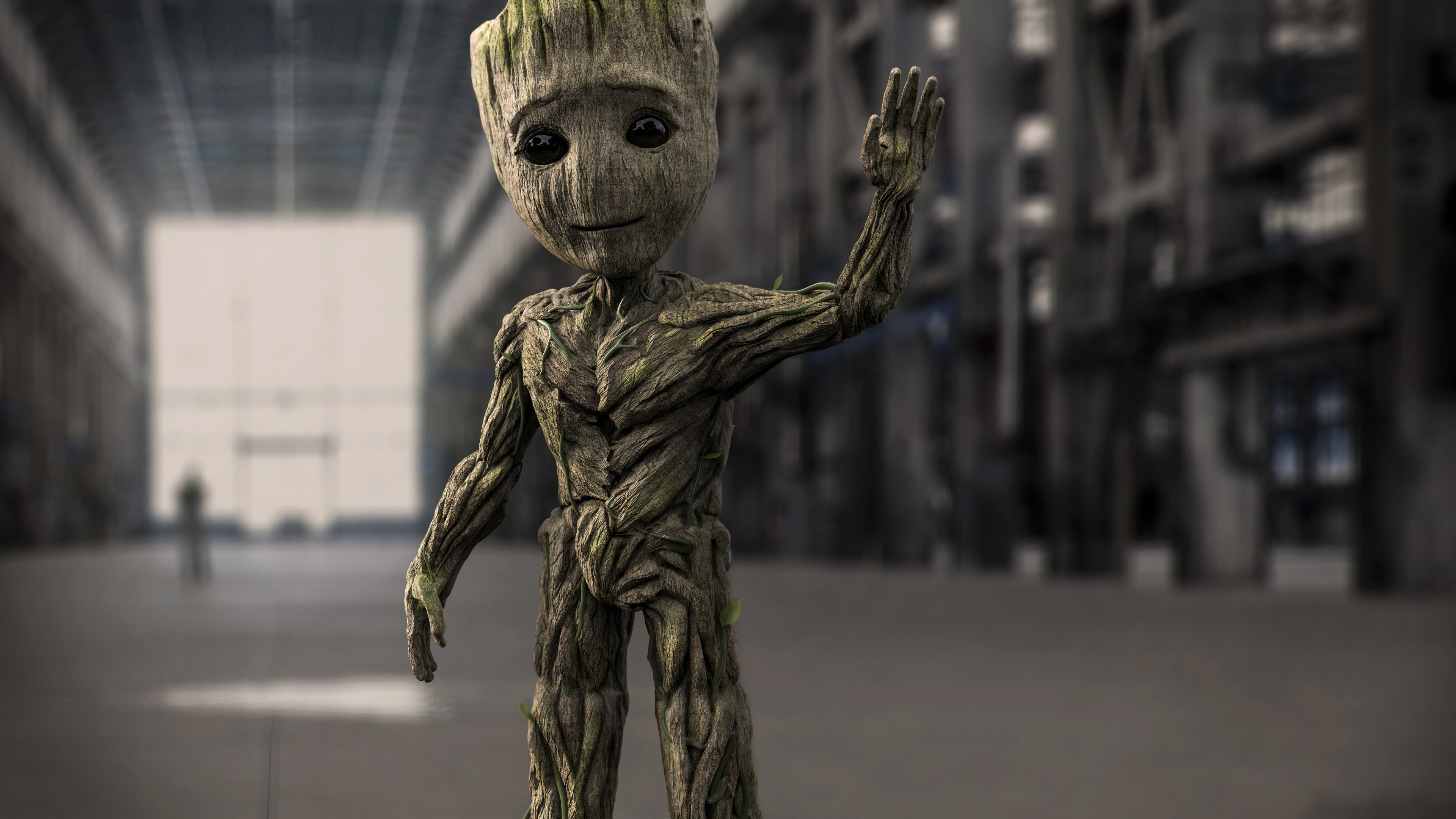 baby groot art 4k 1544923173 - Baby Groot art 4k - superheroes wallpapers, hd-wallpapers, baby groot wallpapers, 4k-wallpapers