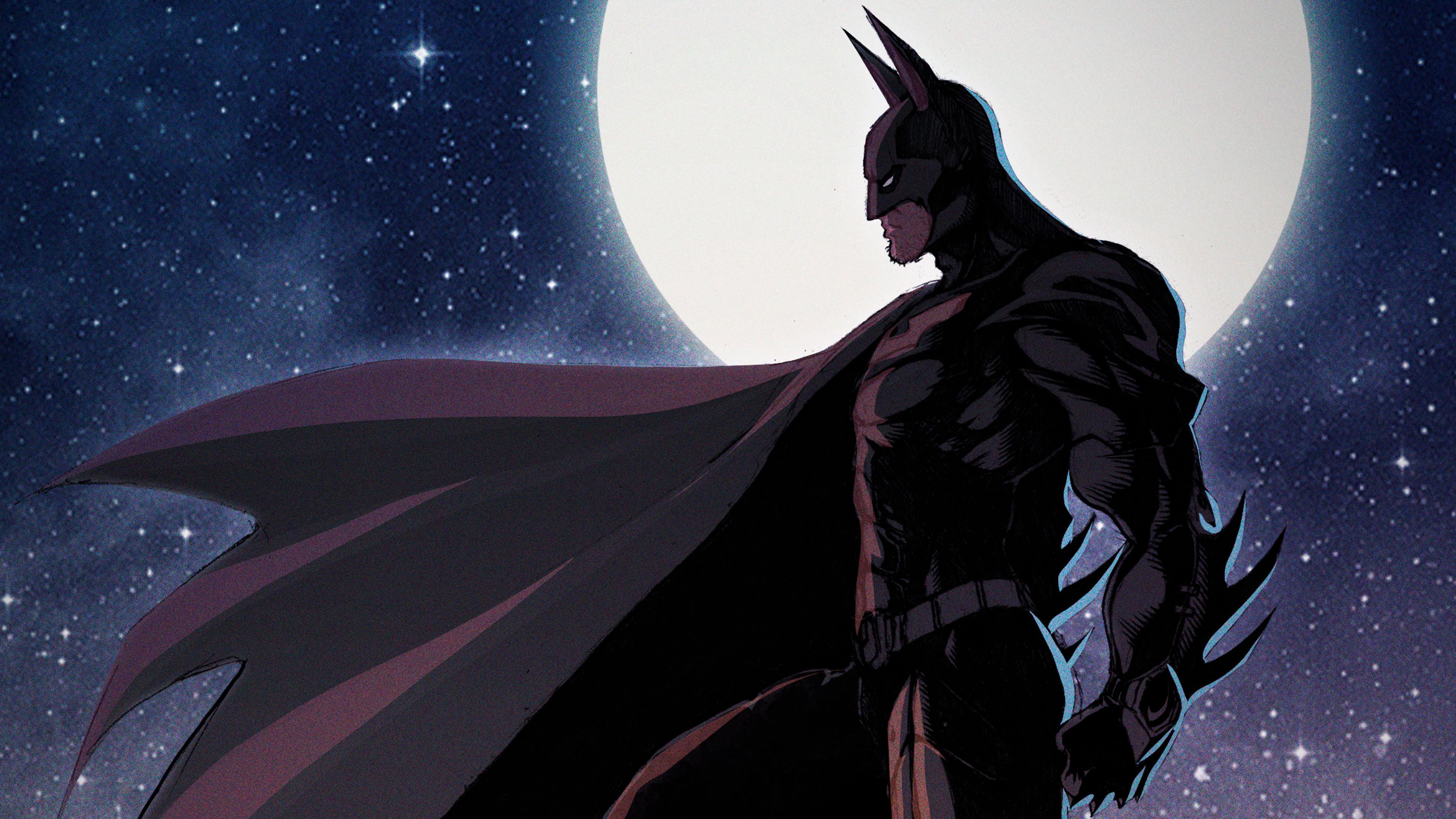 batman the knight 4k art 1544286899 - Batman The Knight 4K Art - superheroes wallpapers, hd-wallpapers, digital art wallpapers, behance wallpapers, batman wallpapers, artwork wallpapers, artist wallpapers, 4k-wallpapers