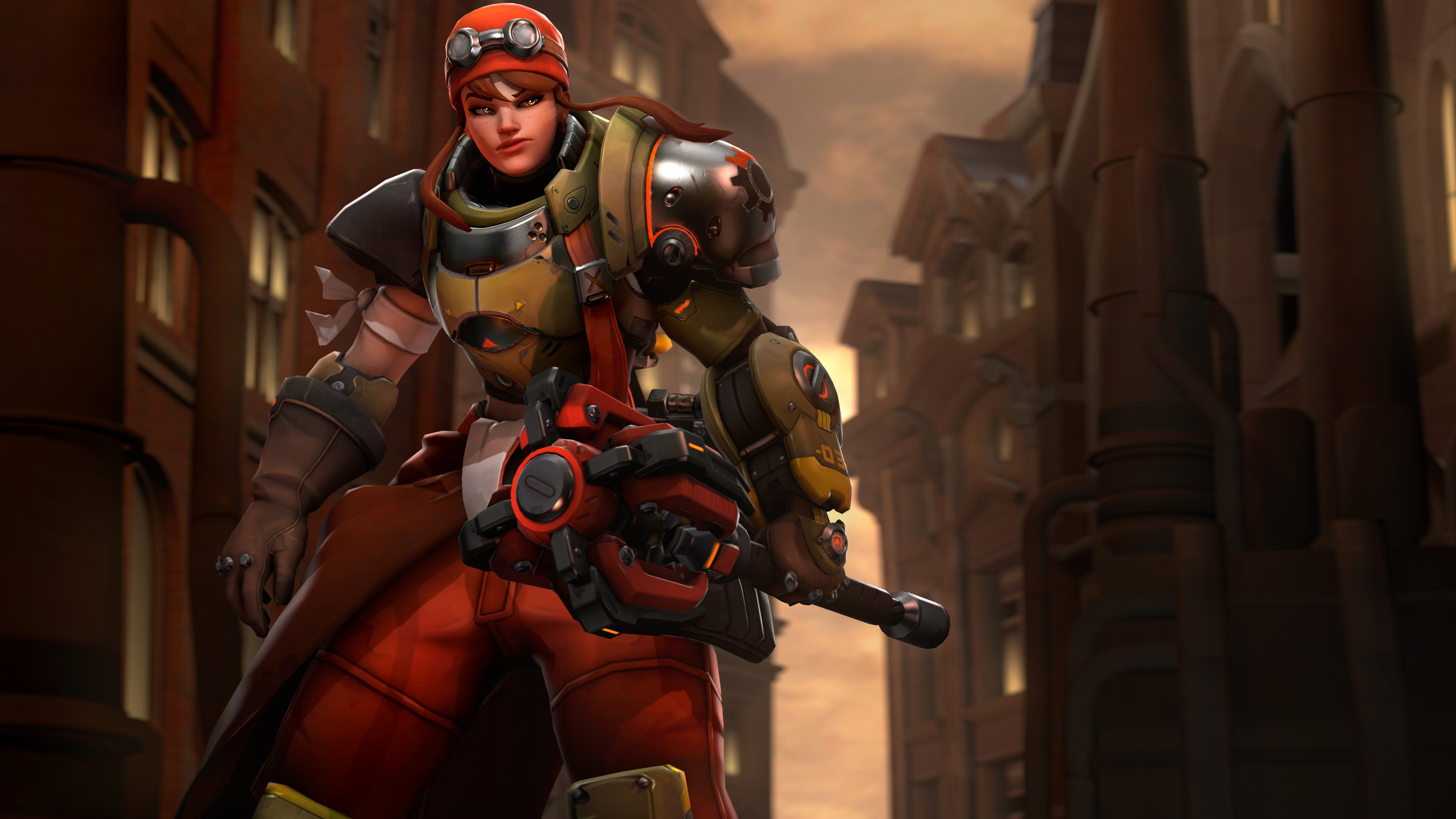 brigitte in overwatch 4k 1545589560 - Brigitte In Overwatch 4k - overwatch wallpapers, hd-wallpapers, games wallpapers, brigitte overwatch wallpapers, 5k wallpapers, 4k-wallpapers