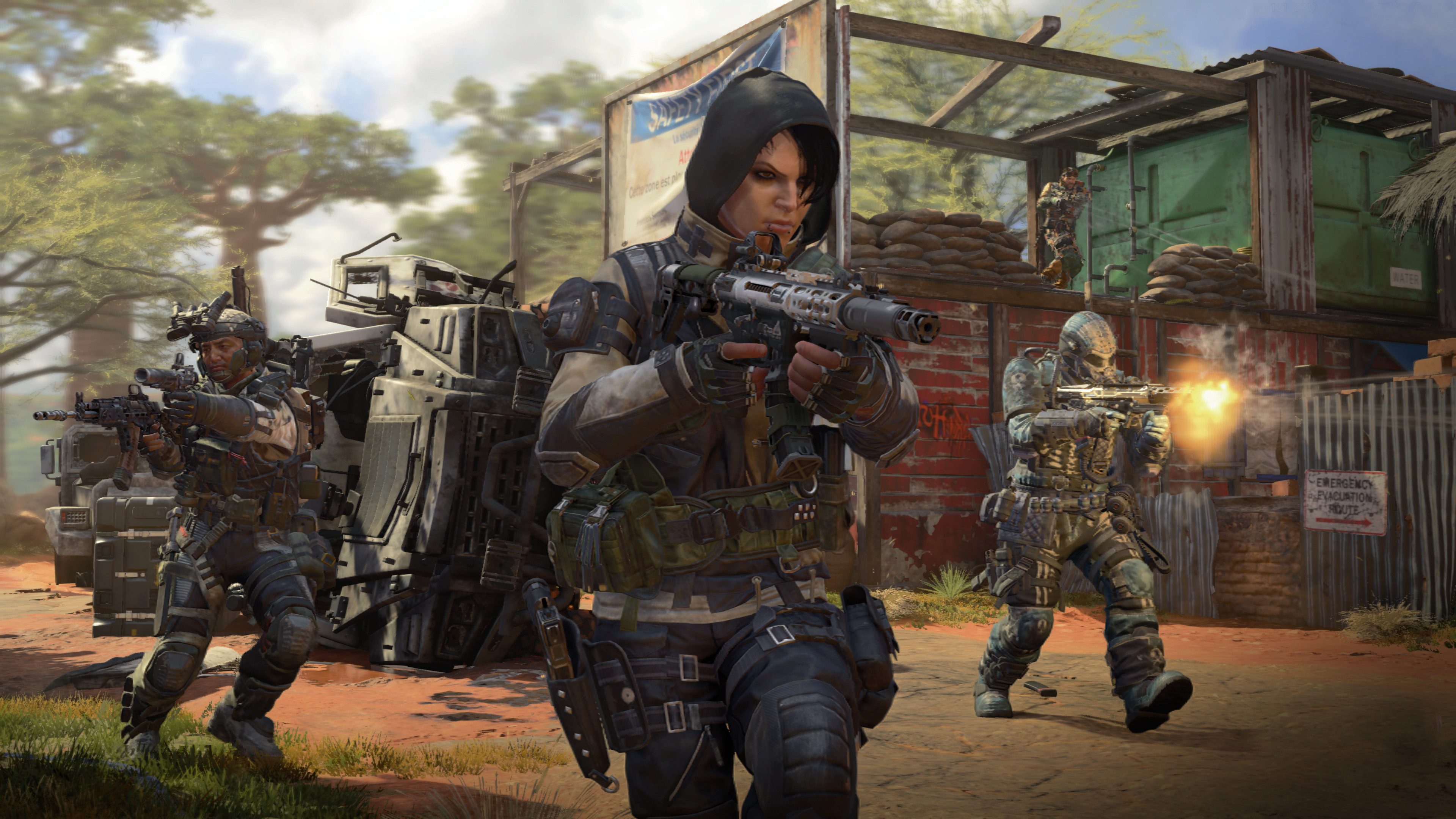 Wallpaper 4k Call Of Duty Black Ops 4 Dead Of The Night 4k 2018