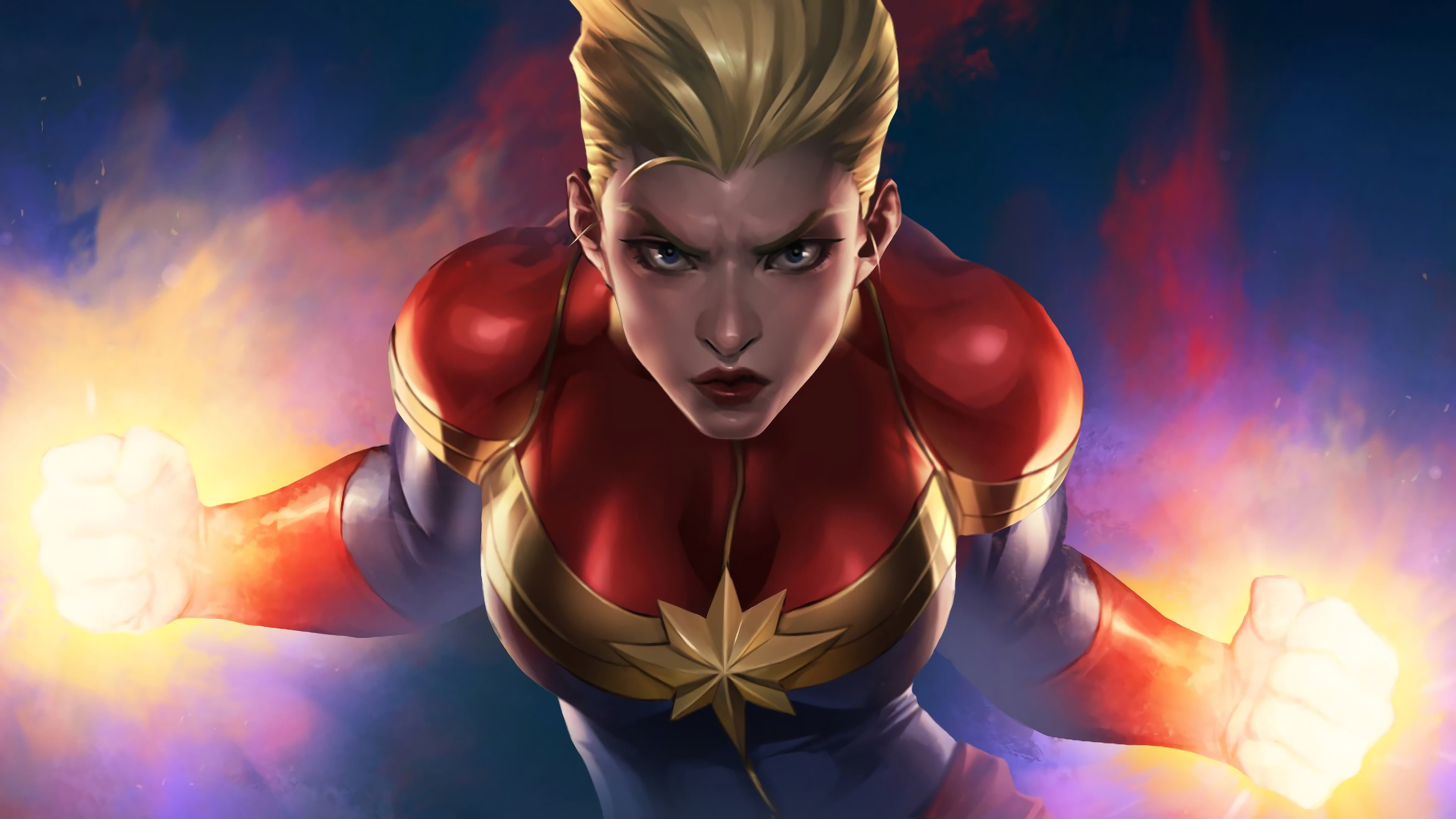 captain marvel marvel comics 4k wallpaper 1544829429 - Captain Marvel Marvel Comics 4K Wallpaper - Marvel Comics, Comics, Captain Marvel (Carol Danvers)