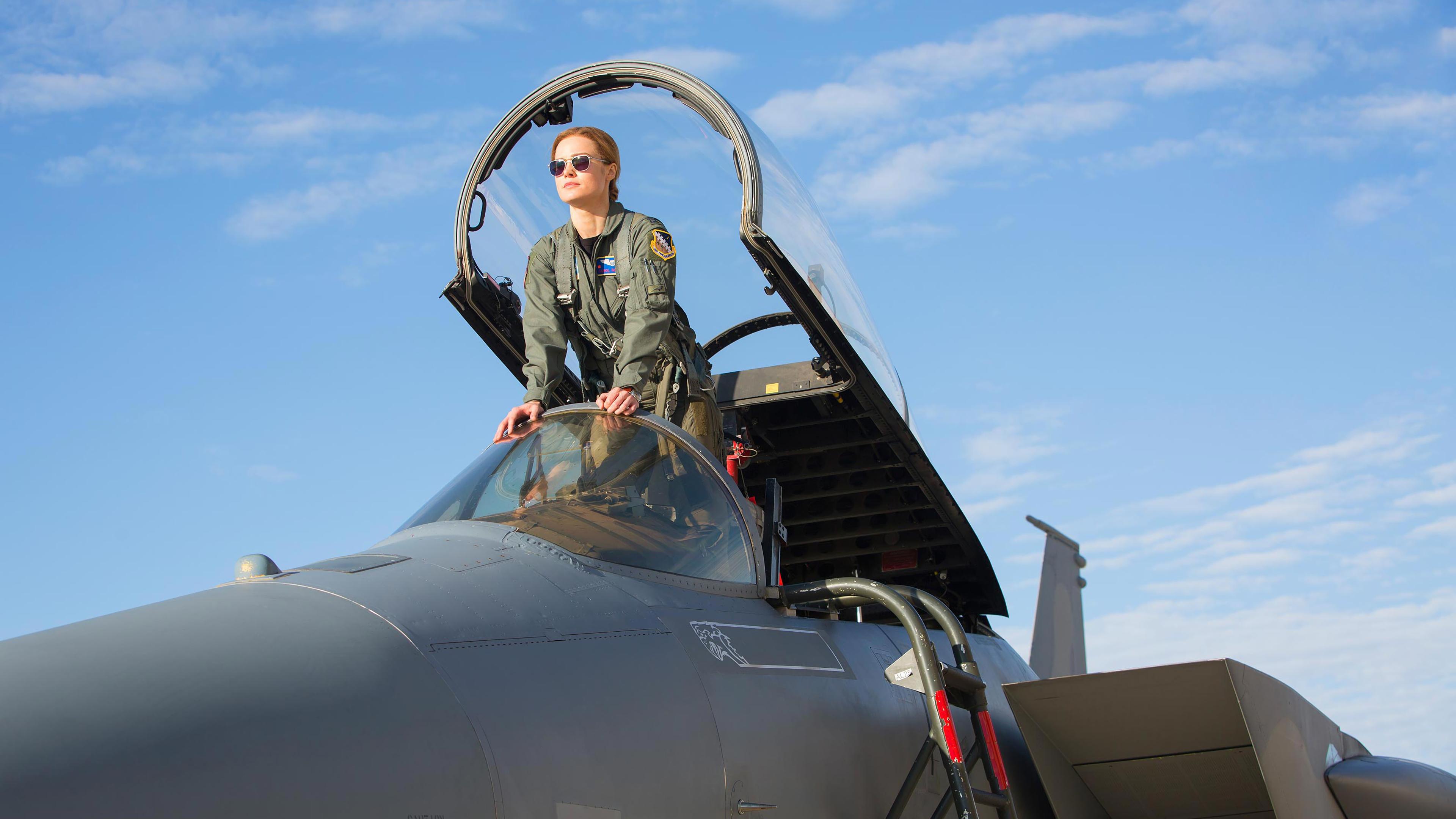 captain marvel movie 2019 brie larson as carol danvers 4k wallpaper 1544829320 - Captain Marvel Movie 2019 Brie Larson as Carol Danvers 4K Wallpaper - Captain Marvel (Movie 2019), Captain Marvel (Carol Danvers)