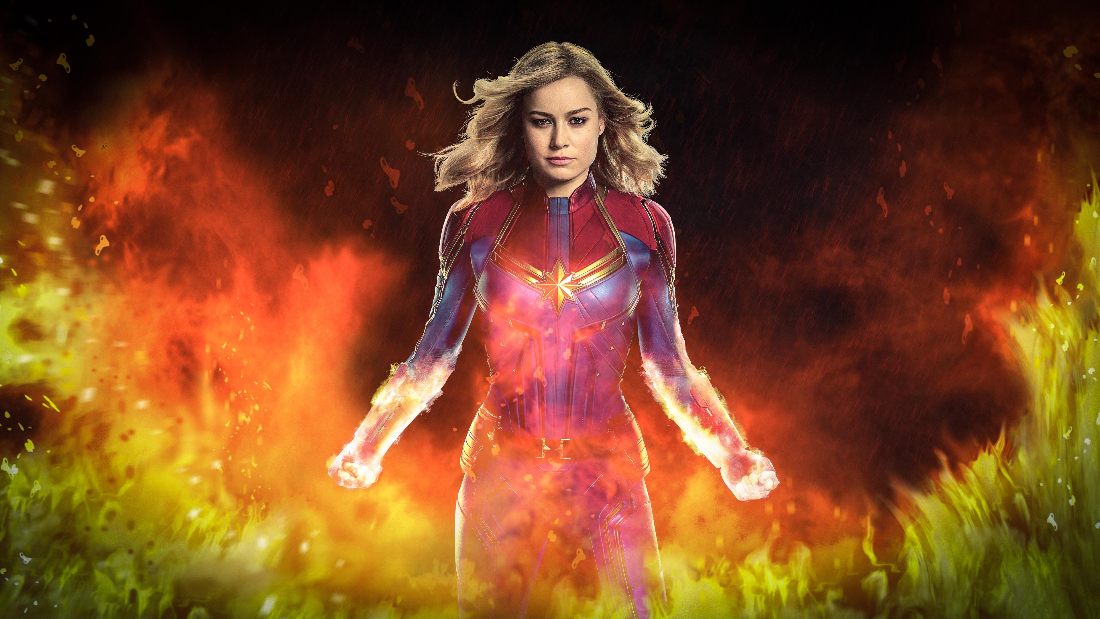 captain marvel movie 2019 brie larson as carol danvers 4k wallpaper 1544829332 - Captain Marvel Movie 2019 Brie Larson as Carol Danvers 4K Wallpaper - Captain Marvel (Movie 2019), Captain Marvel (Carol Danvers)