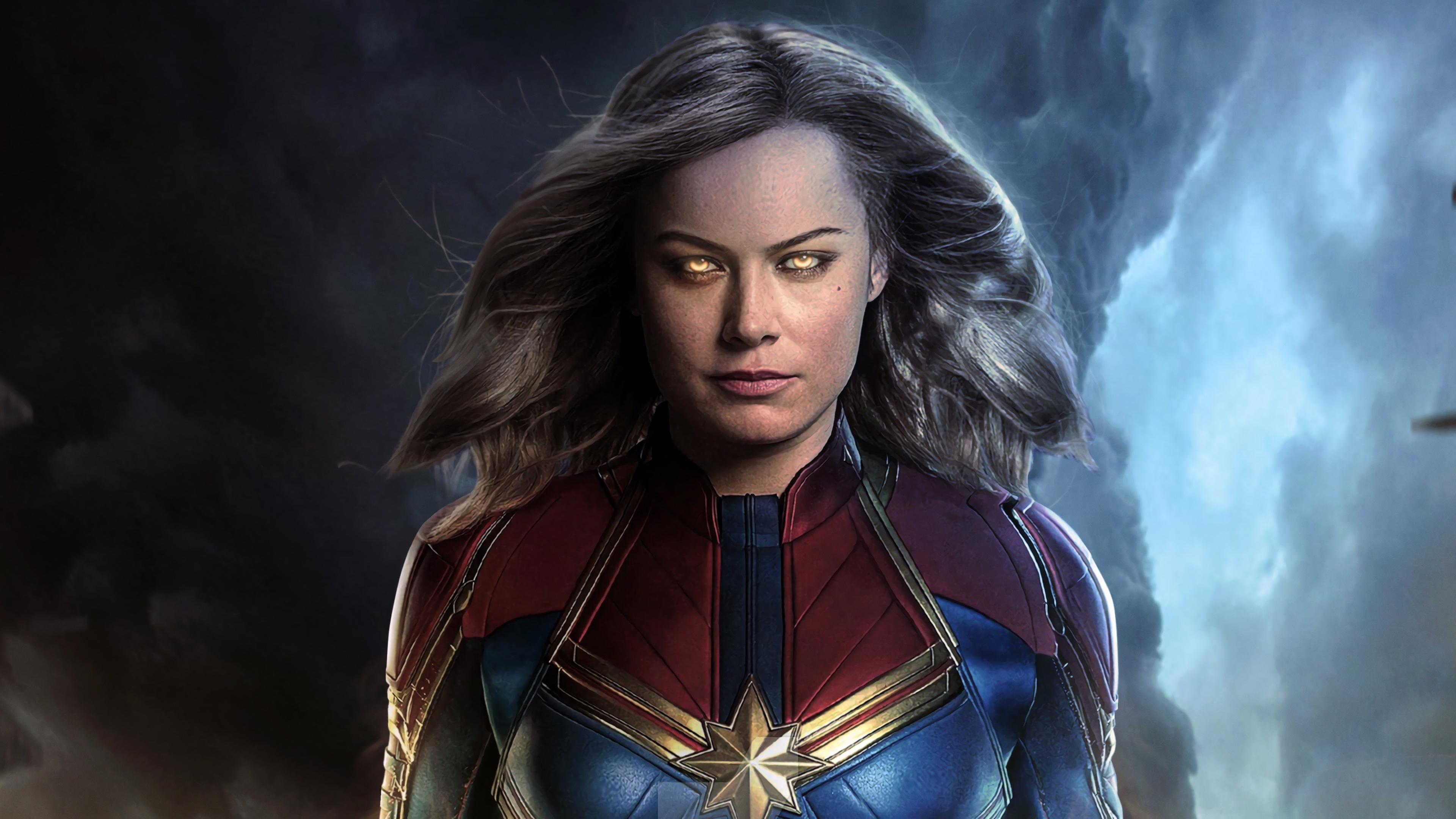 captain marvel movie 2019 brie larson as carol danvers 4k wallpaper 1544829434 - Captain Marvel Movie 2019 Brie Larson as Carol Danvers 4K Wallpaper - Captain Marvel (Movie 2019), Captain Marvel (Carol Danvers)