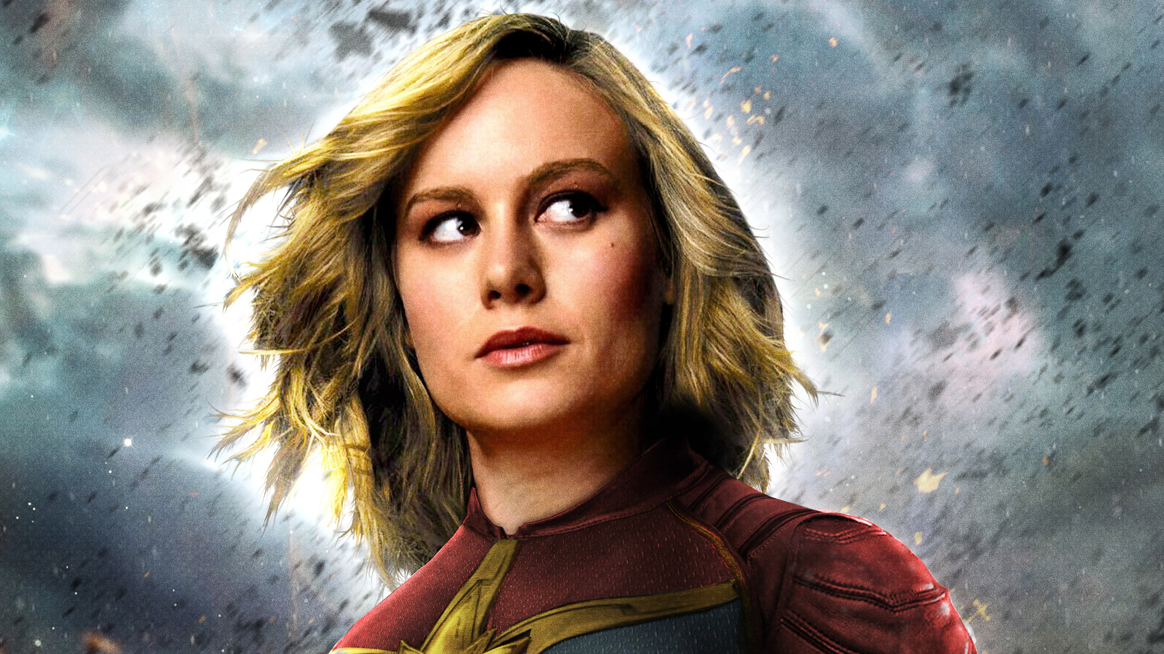 captain marvel movie 2019 brie larson as carol danvers 4k wallpaper 1544829439 - Captain Marvel Movie 2019 Brie Larson as Carol Danvers 4K Wallpaper - Captain Marvel (Movie 2019), Captain Marvel (Carol Danvers)