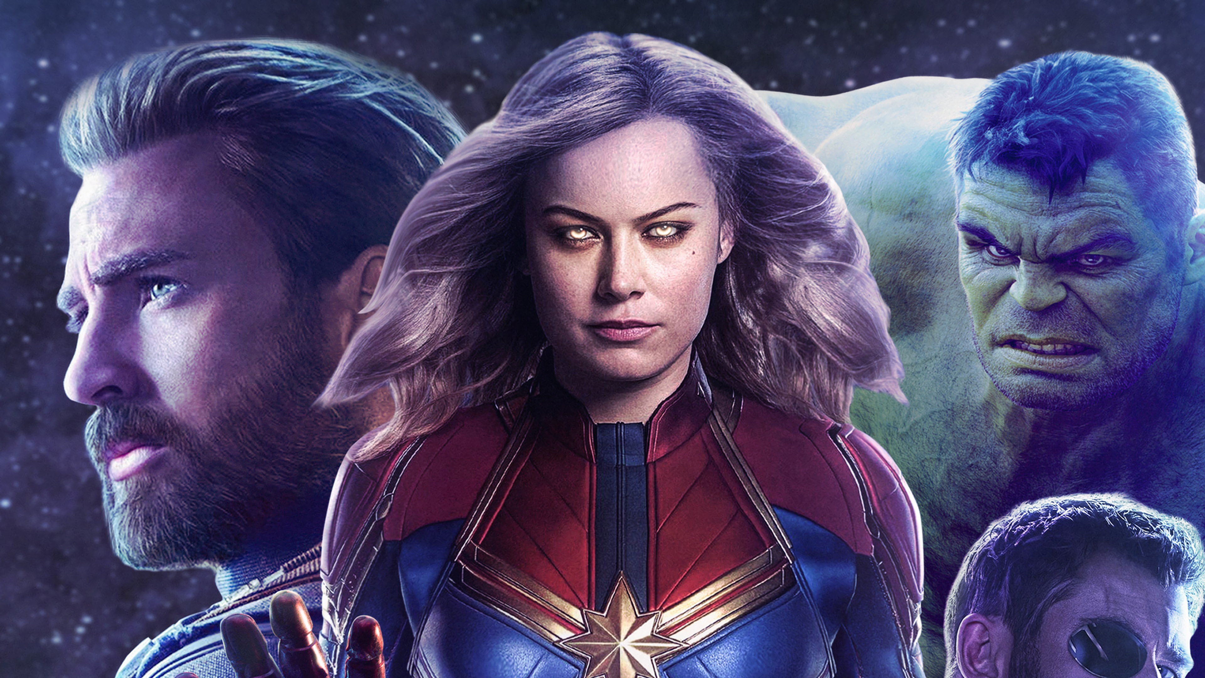 captain marvel movie 2019 hulk captain america 4k wallpaper 1544829331 - Captain Marvel Movie 2019 Hulk Captain America 4K Wallpaper - The Hulk, Captain Marvel (Movie 2019), Captain Marvel (Carol Danvers), captain america