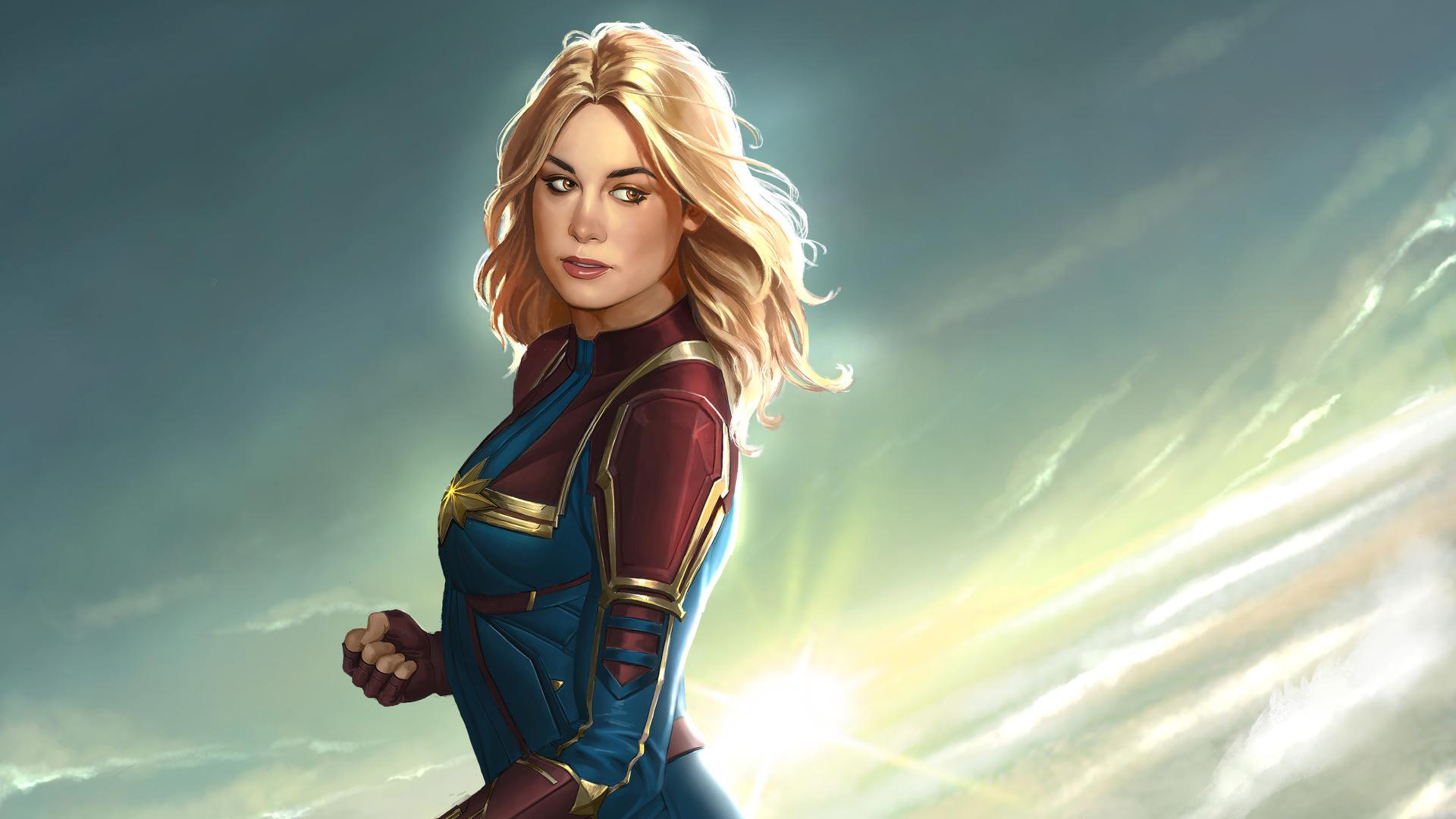 Captain Marvel 2019 Hd Wallpaper