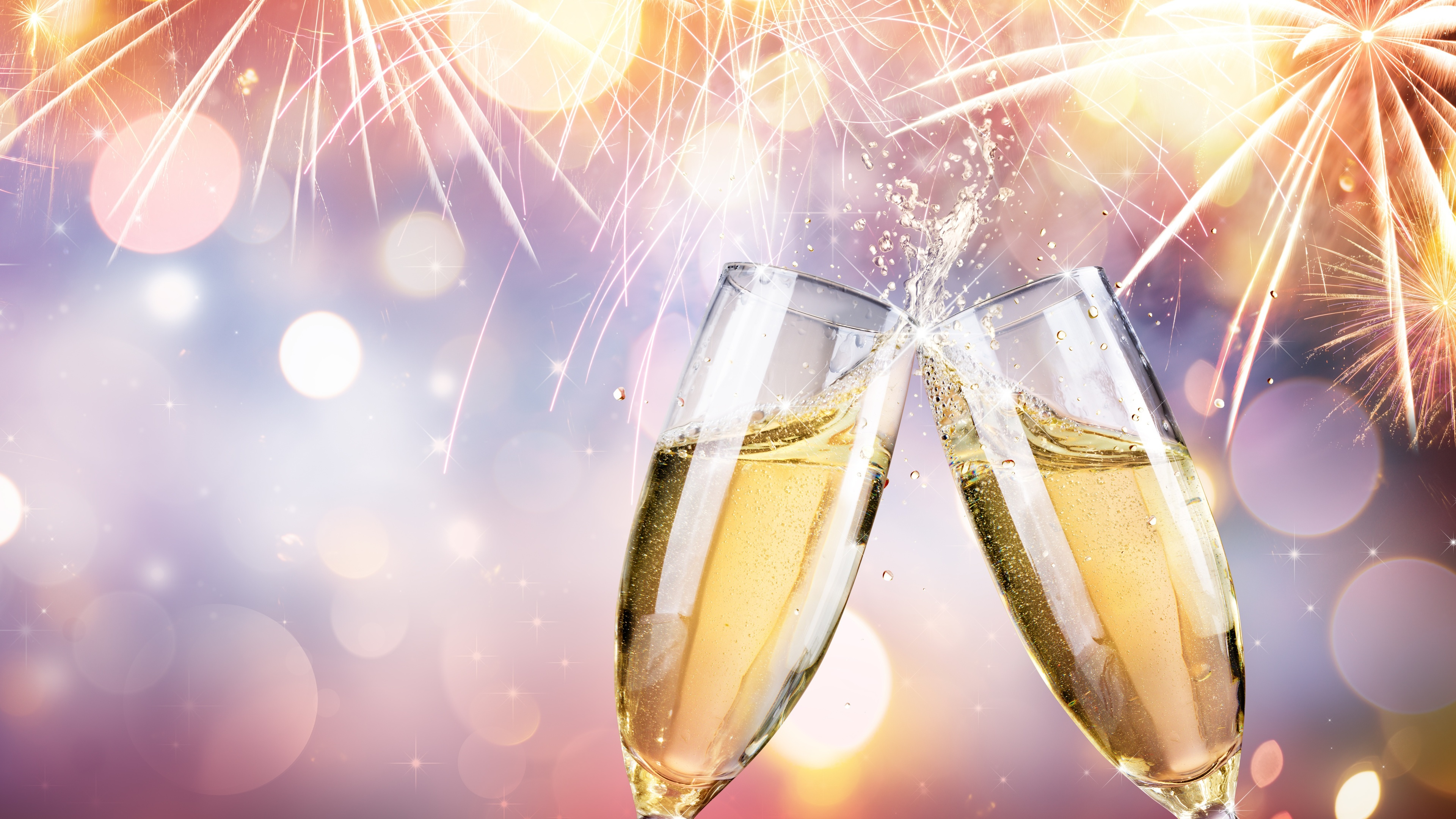 celebration champagne fireworks 4k 1543946535 - Celebration Champagne Fireworks 4k - hd-wallpapers, fireworks wallpapers, champagne wallpapers, celebrations wallpapers, 5k wallpapers, 4k-wallpapers