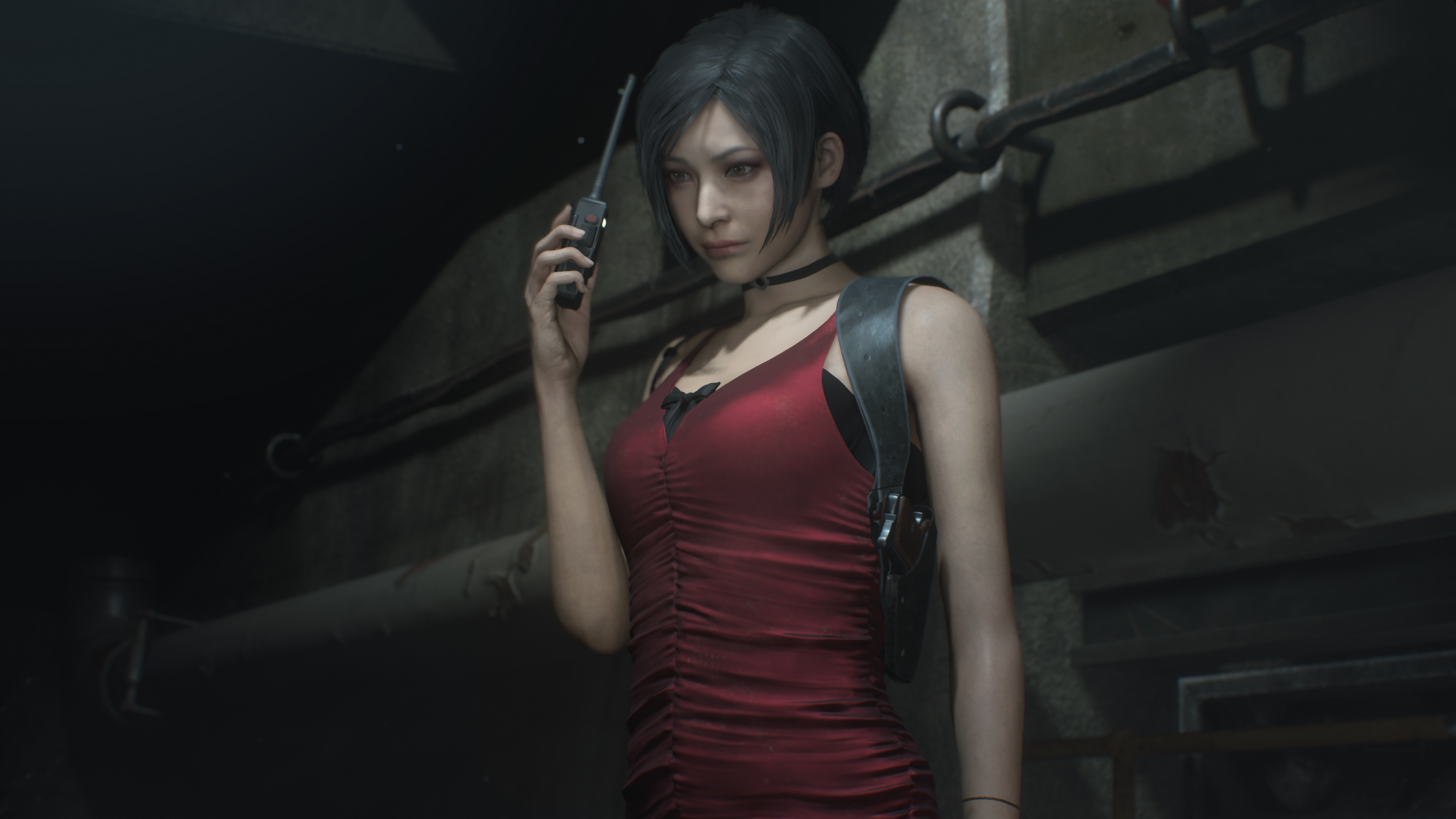 Wallpaper 4k Claire Redfield Resident Evil 2 2019 2019 Games
